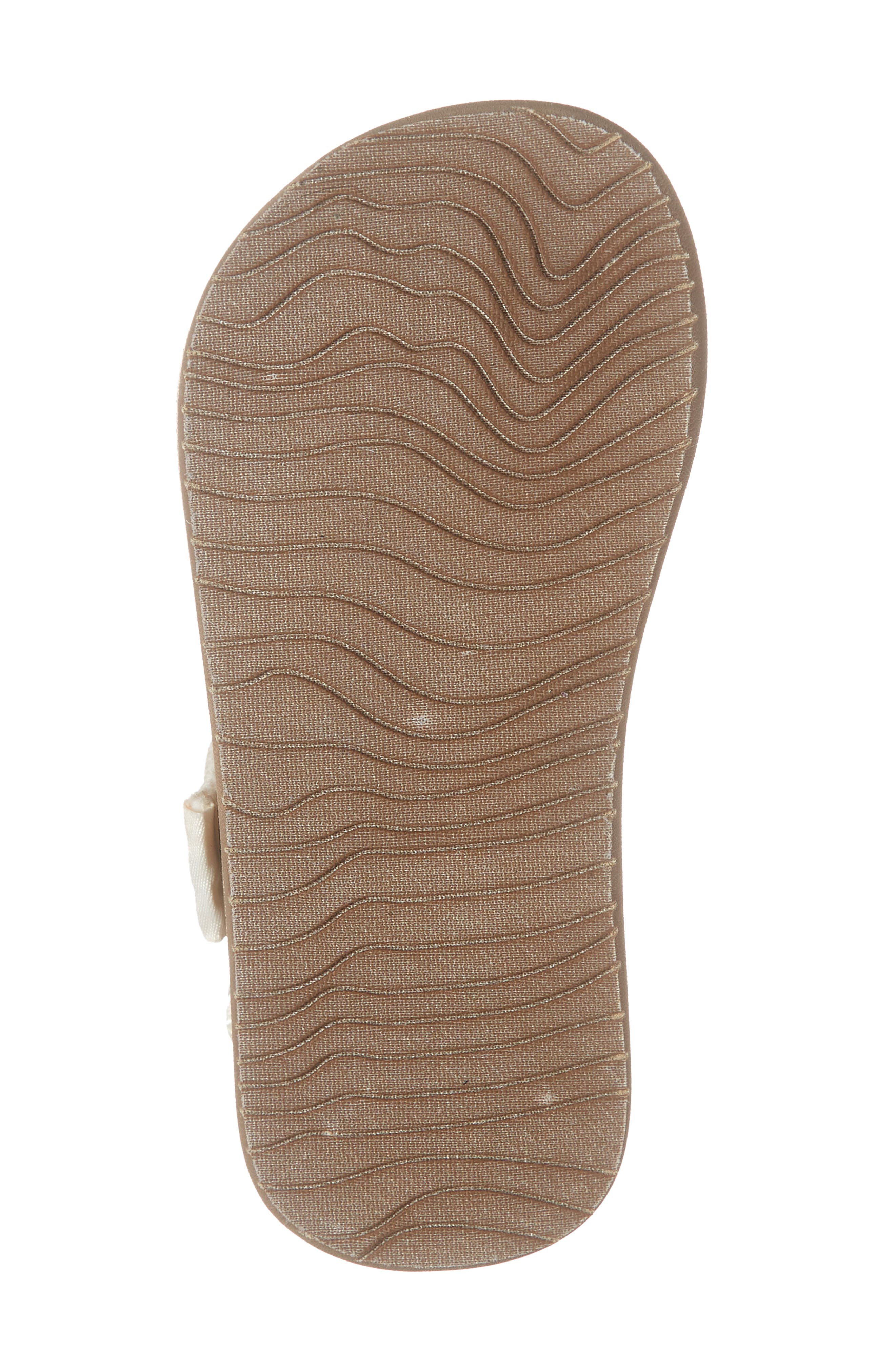 REEF, Little Ahi Convertible Sandal, Alternate thumbnail 6, color, SANDY TOES