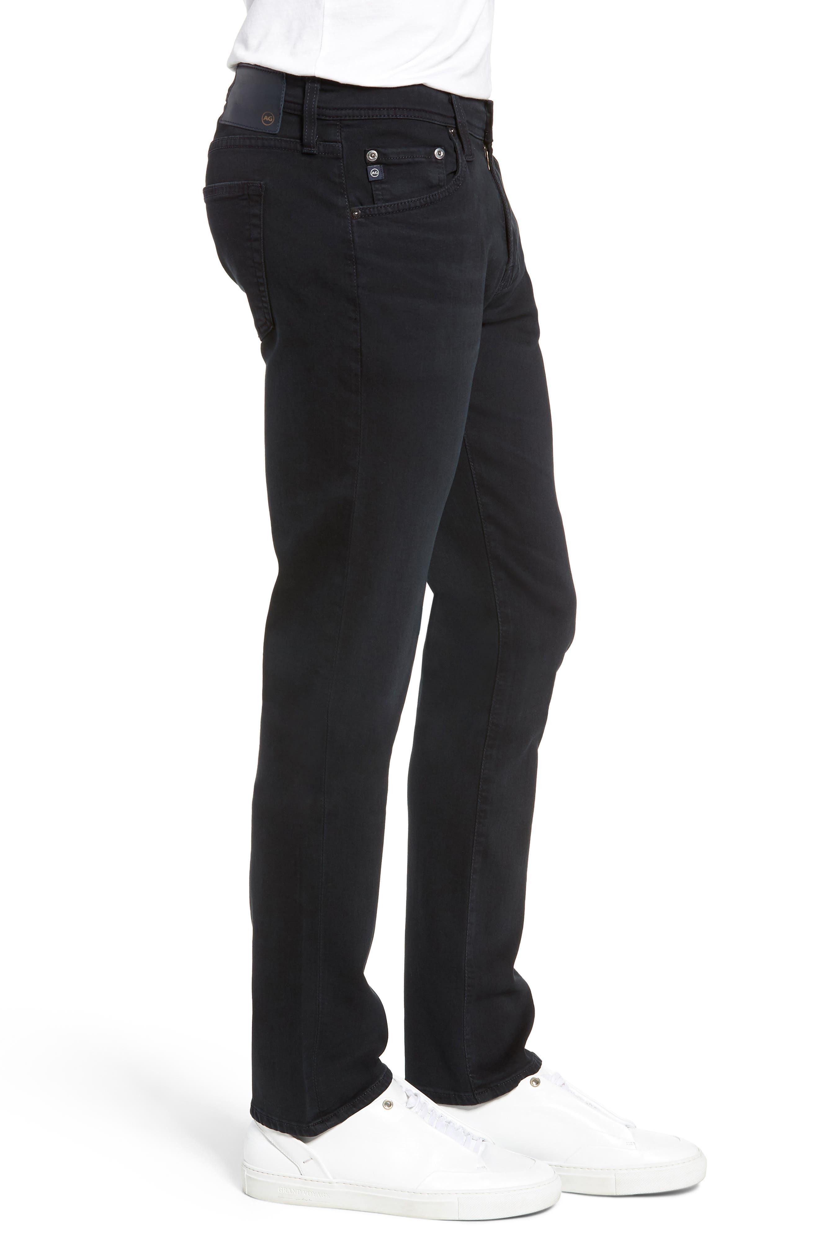 AG, Tellis Slim Fit Jeans, Alternate thumbnail 3, color, BIG SUR