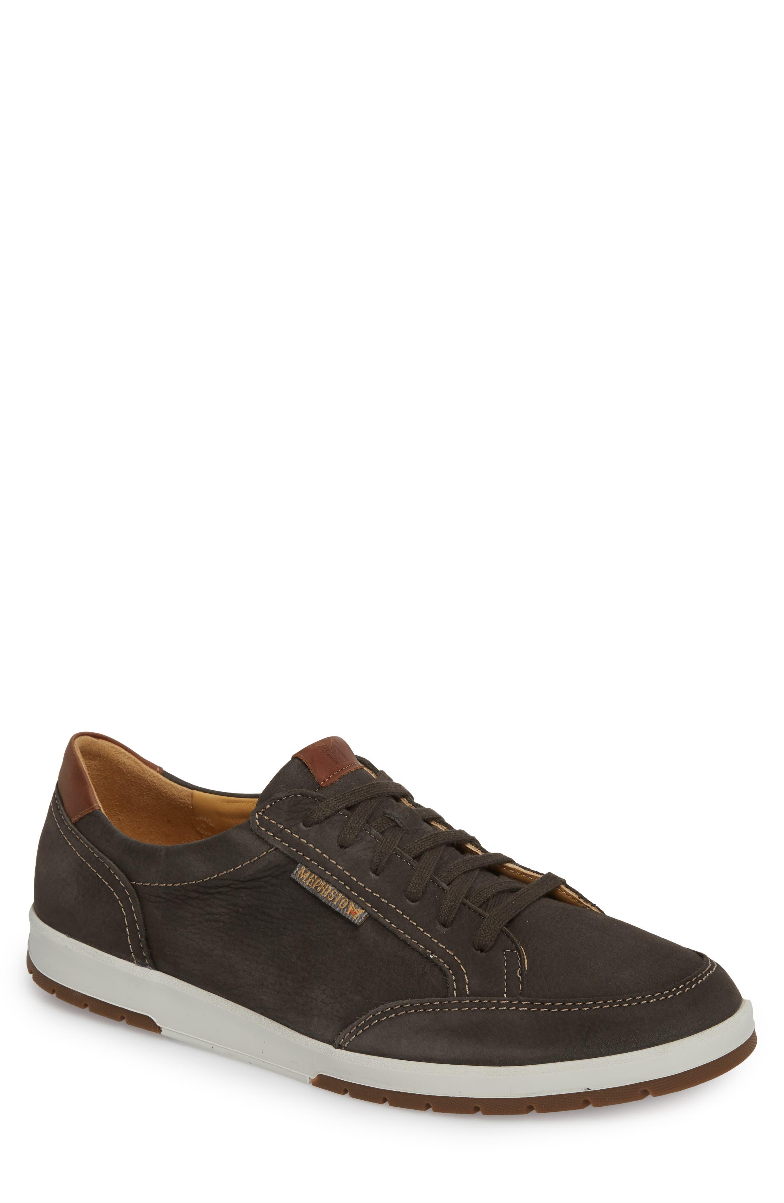 MEPHISTO 'Ludo' Sneaker, Main, color, GRAPHITE