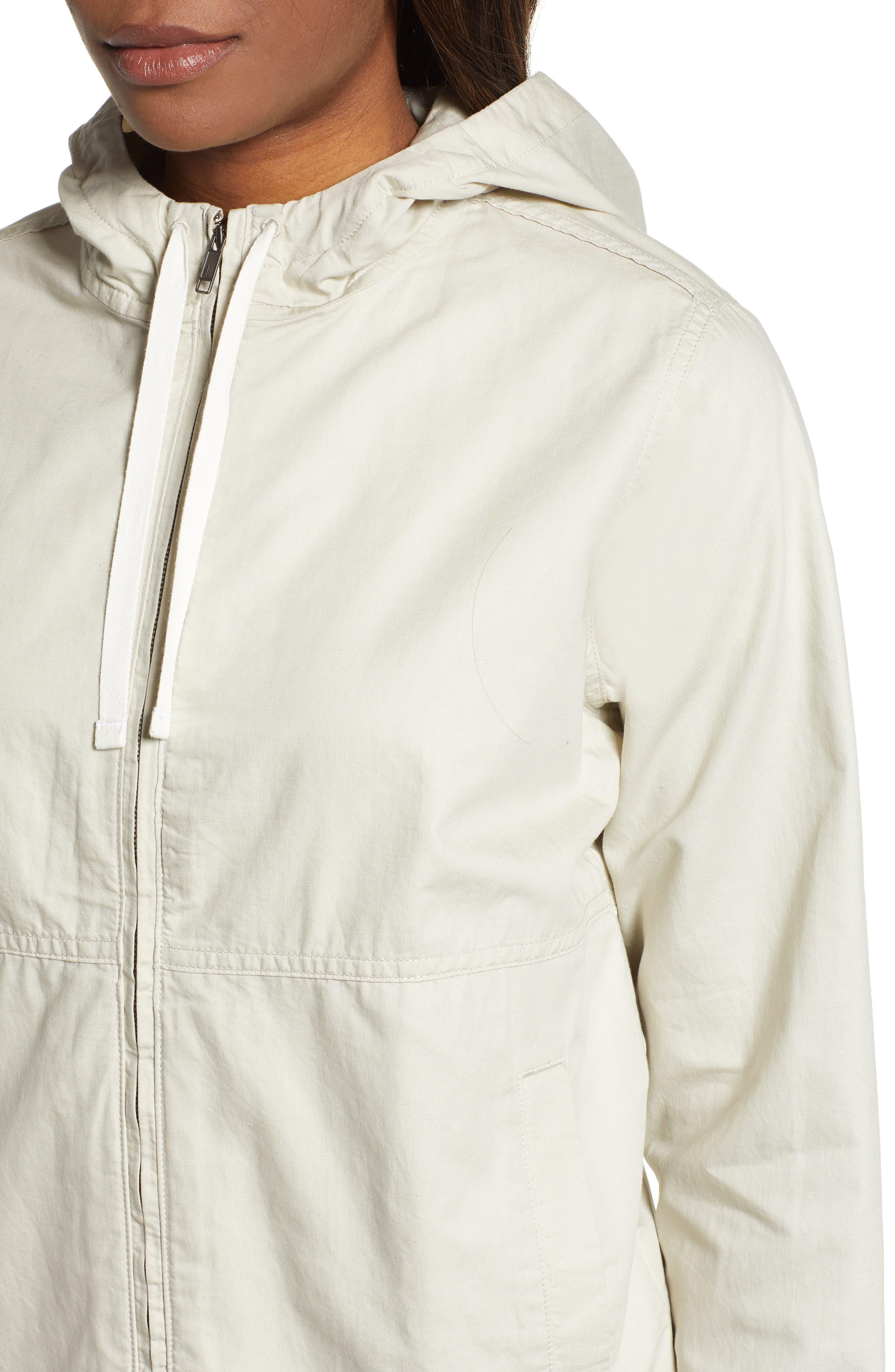 PATAGONIA, Back Canyon Hooded Jacket, Alternate thumbnail 4, color, PELICAN