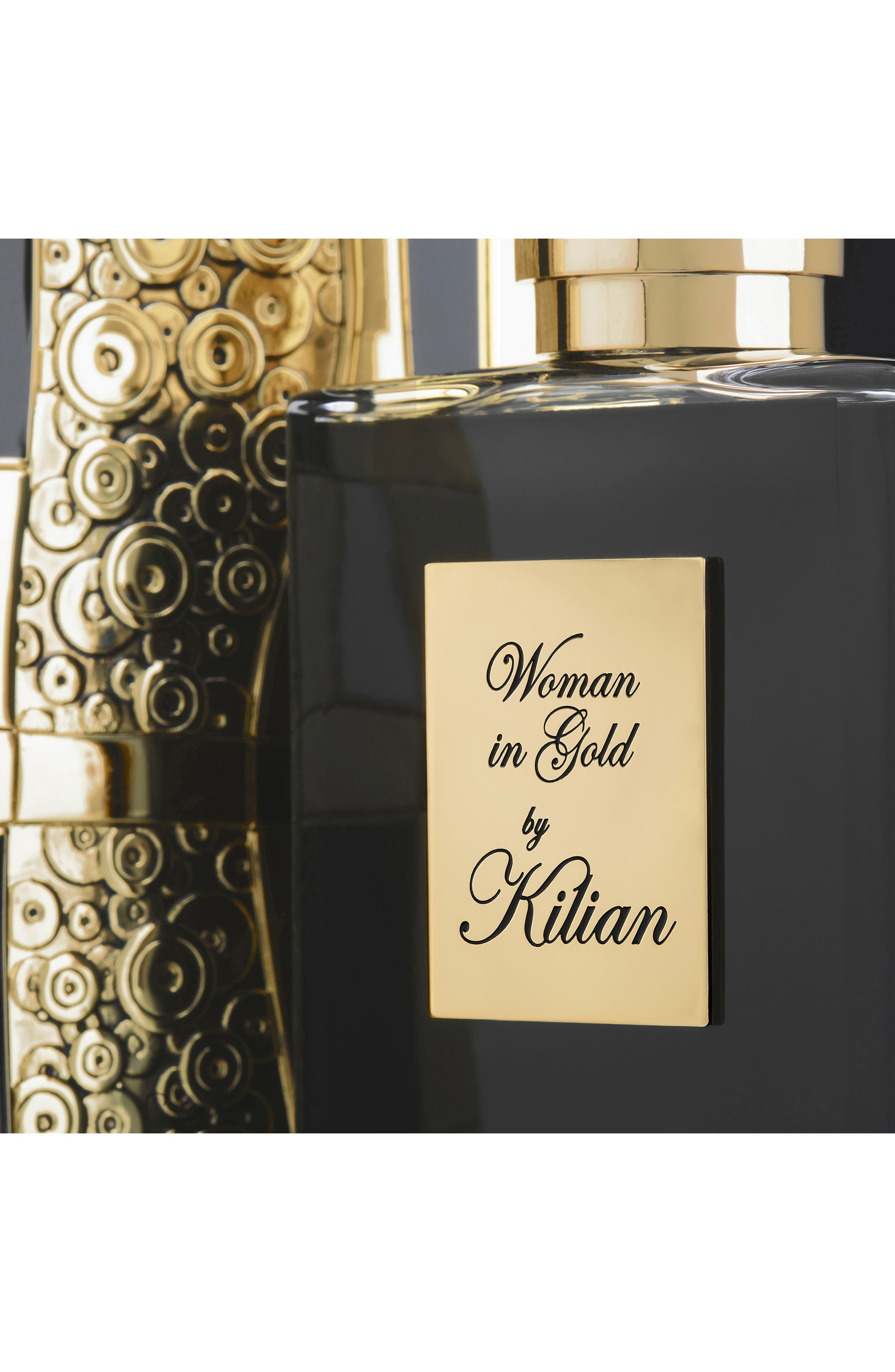 KILIAN, Woman in Gold Collector's Edition Refillable Perfume Spray, Alternate thumbnail 5, color, NO COLOR