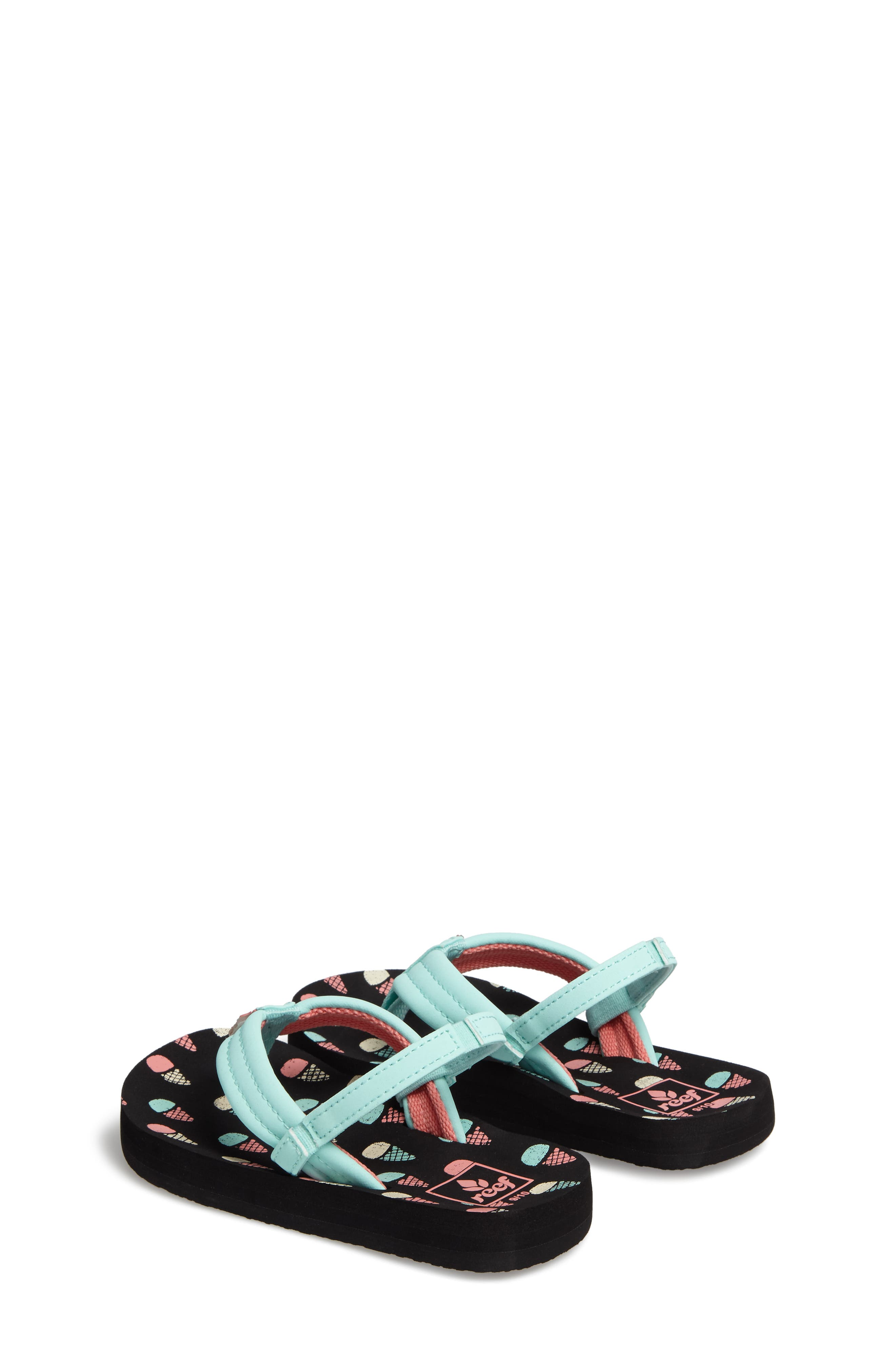 REEF, 'Little Ahi' Thong Sandal, Alternate thumbnail 3, color, ICE CREAM