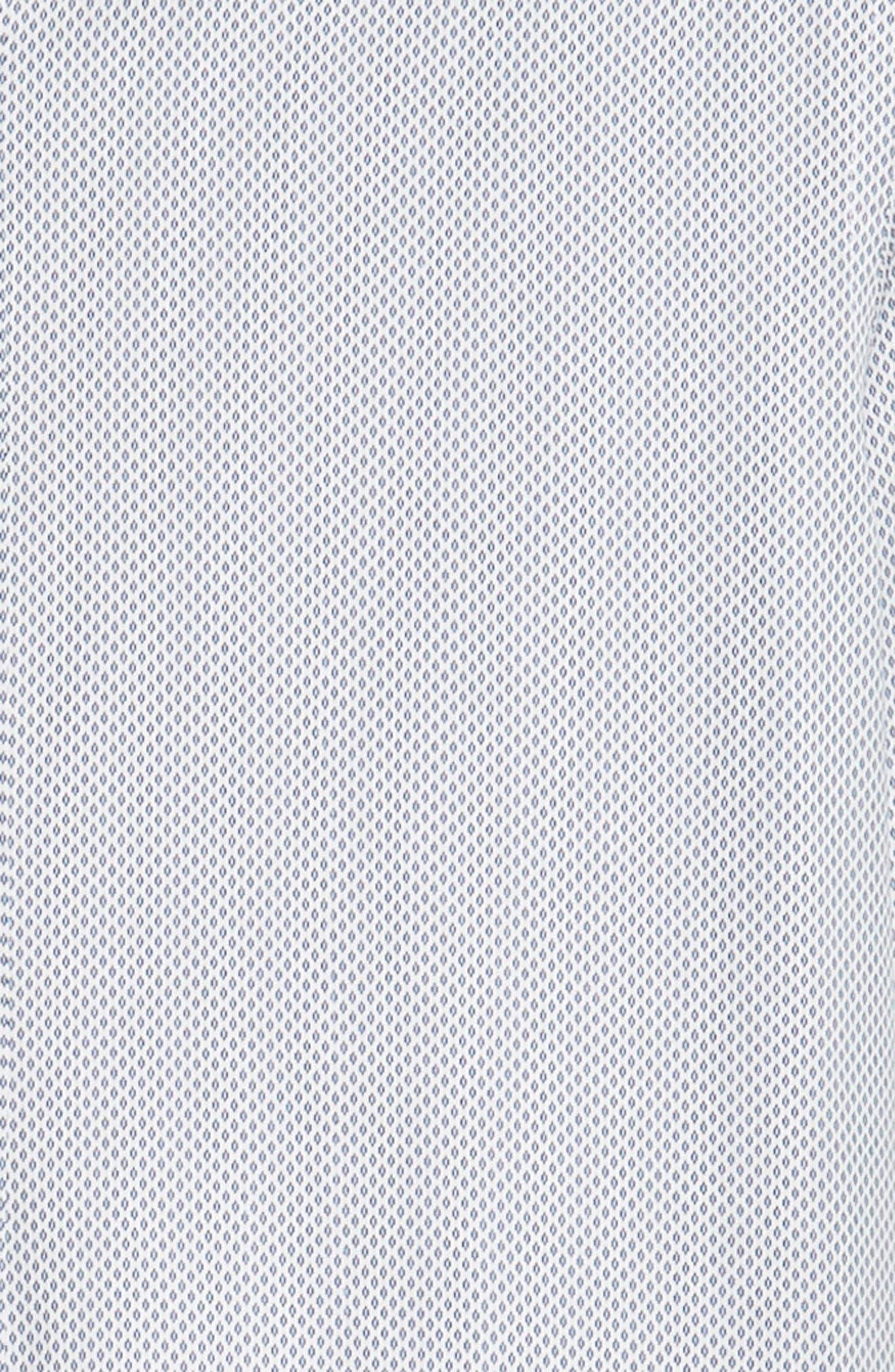 RODD & GUNN, Helston Way Regular Fit Sport Shirt, Alternate thumbnail 6, color, SNOW