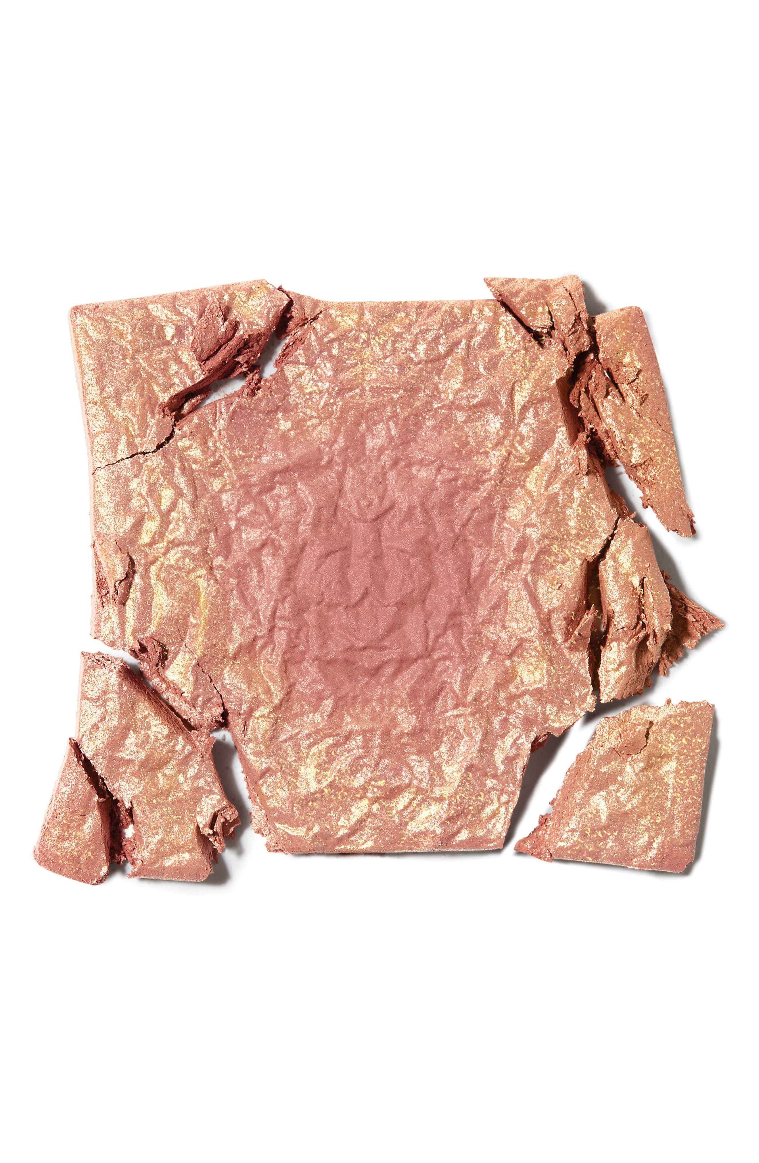 BENEFIT COSMETICS, Benefit Gold Rush Blush, Alternate thumbnail 3, color, NO COLOR