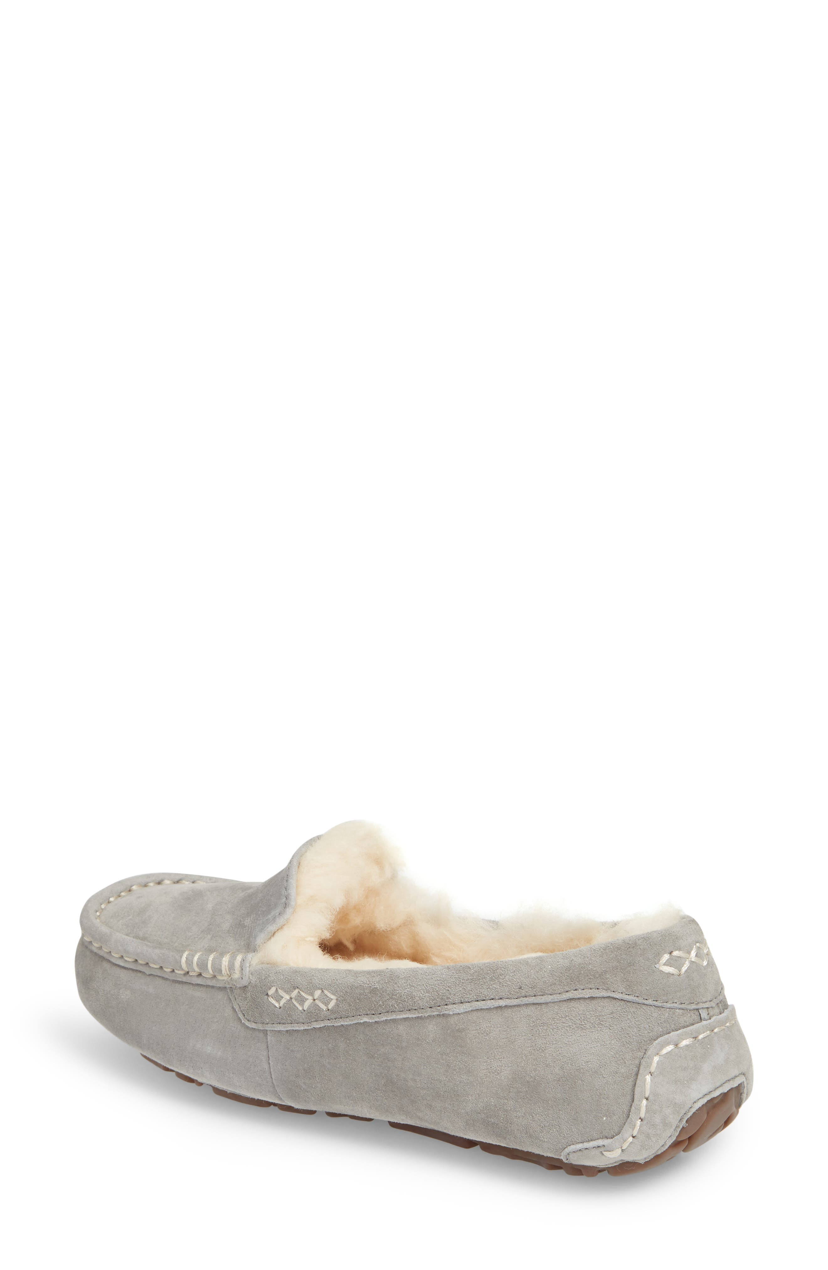 UGG<SUP>®</SUP>, Ansley Water Resistant Slipper, Alternate thumbnail 2, color, LIGHT GREY