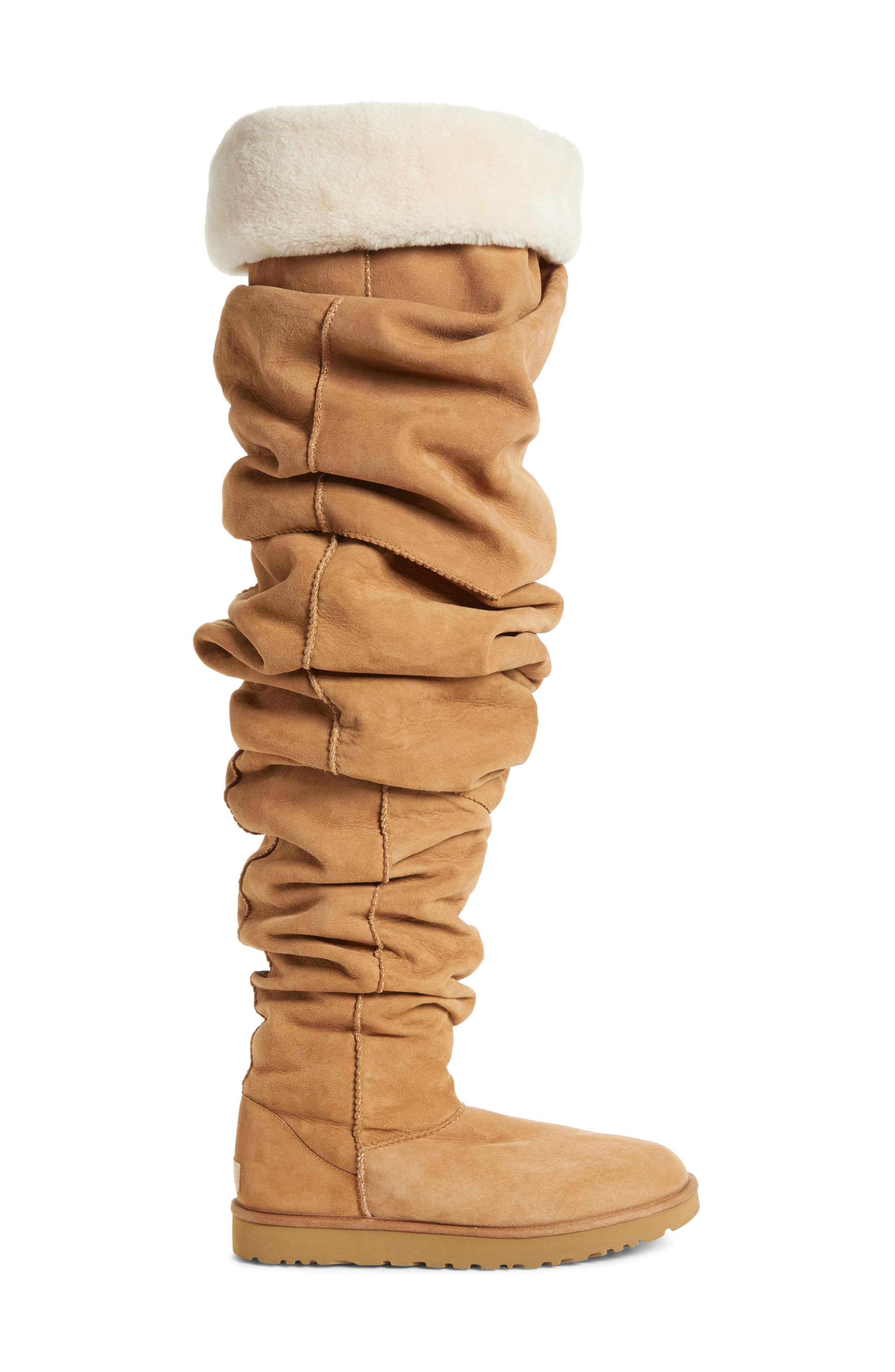 Y/PROJECT, x UGG<sup>®</sup> Thigh High Boot, Alternate thumbnail 3, color, 200