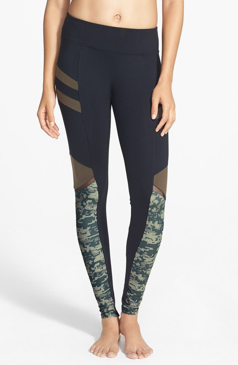 078631bbc83ff Solow 'Digital Camo' Print Leggings (Online Only) | Nordstrom