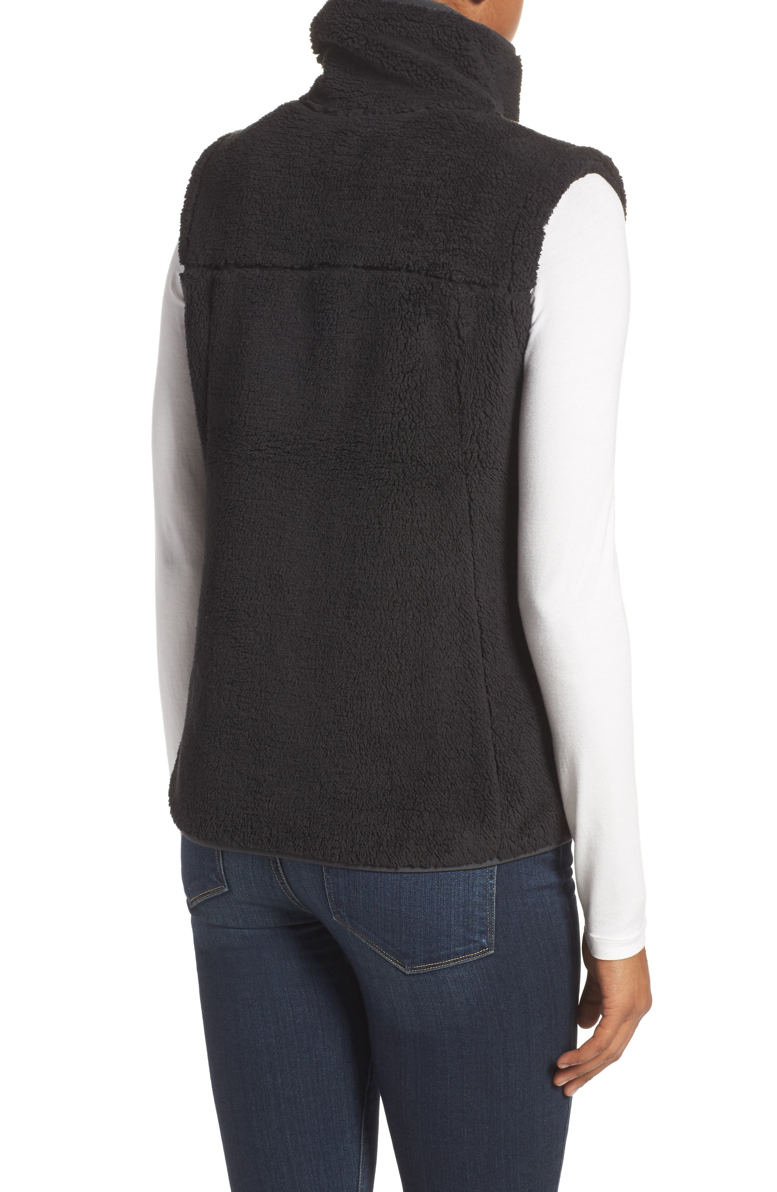 THE NORTH FACE, Campshire Vest, Alternate thumbnail 2, color, 001