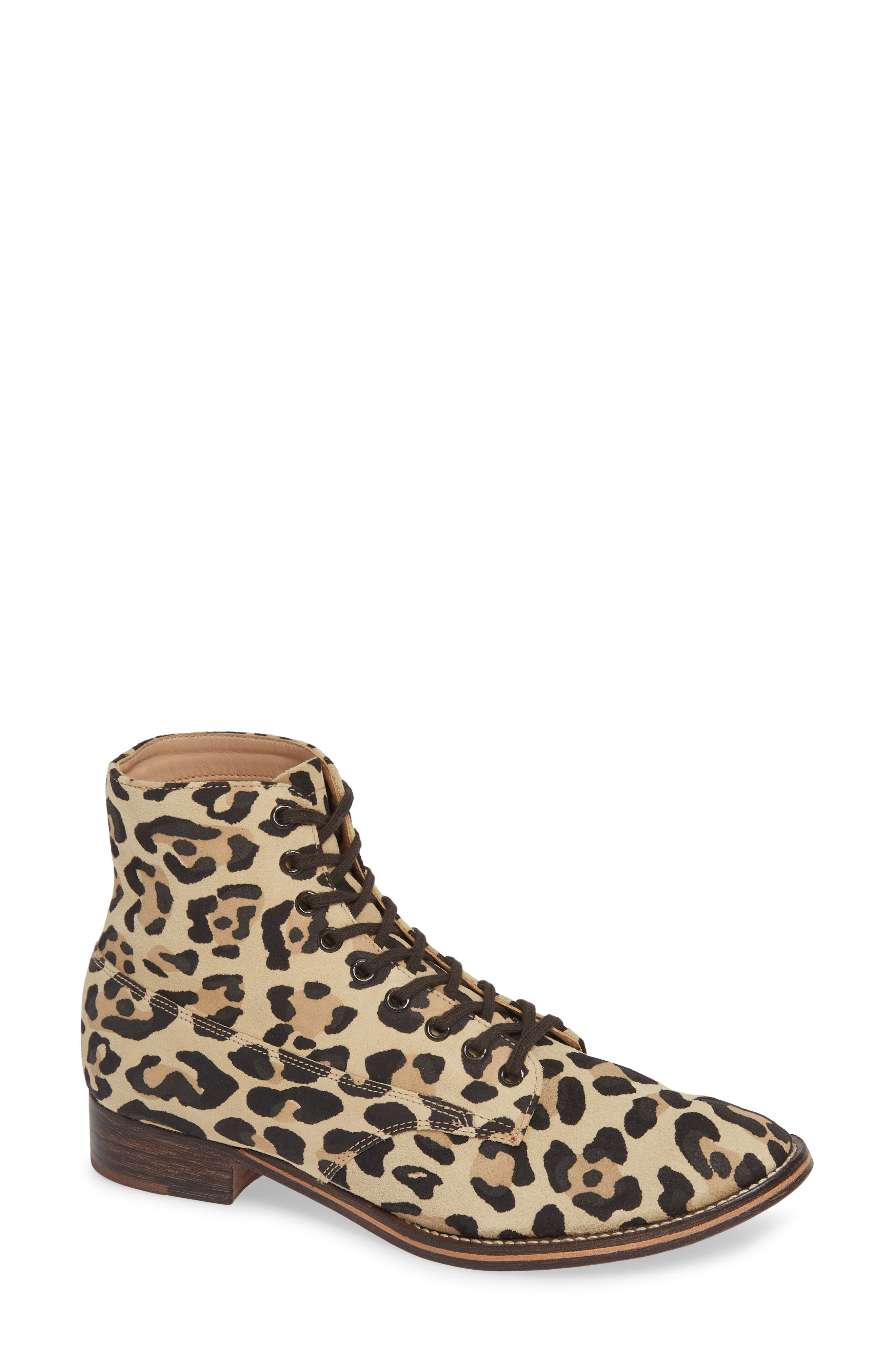 The Great. The Boxcar Cap-Toe Boot, Brown