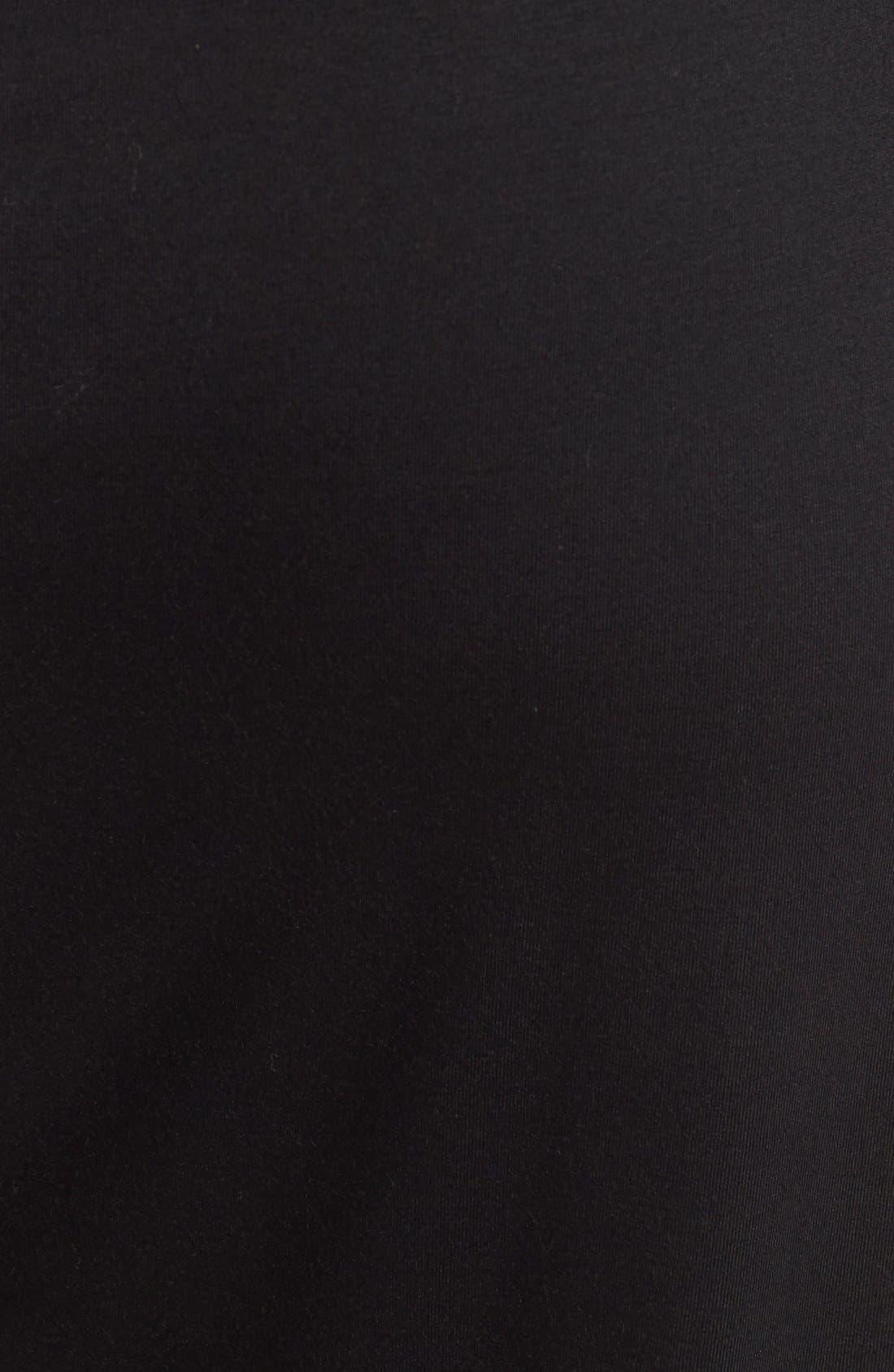 ASTR THE LABEL, ASTR High Slit Maxi Skirt, Alternate thumbnail 5, color, 001