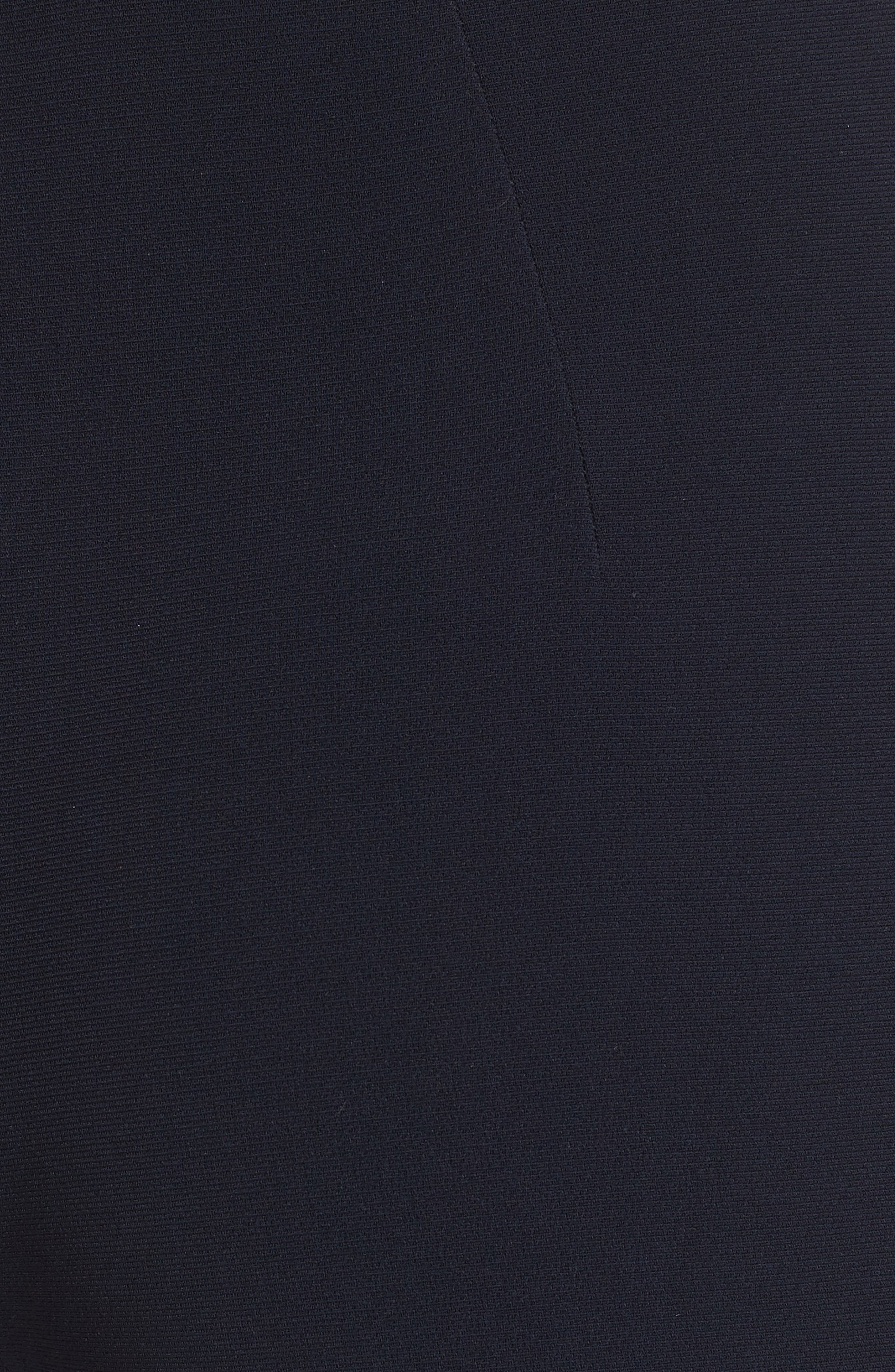 BRANDON MAXWELL, Cigarette Pants, Alternate thumbnail 5, color, NAVY