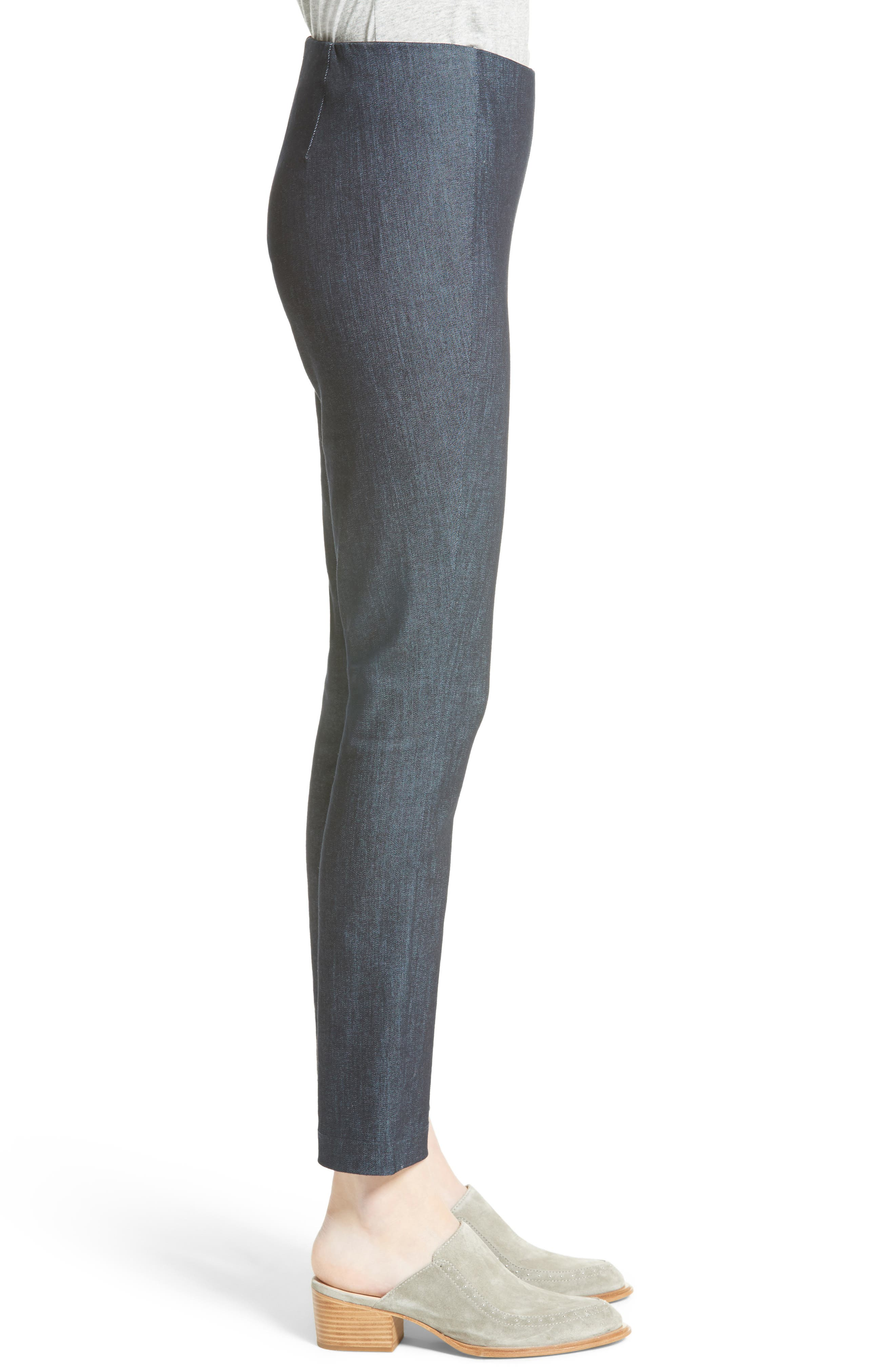 RAG & BONE, Simone Slim Ankle Pants, Alternate thumbnail 4, color, INDIGO