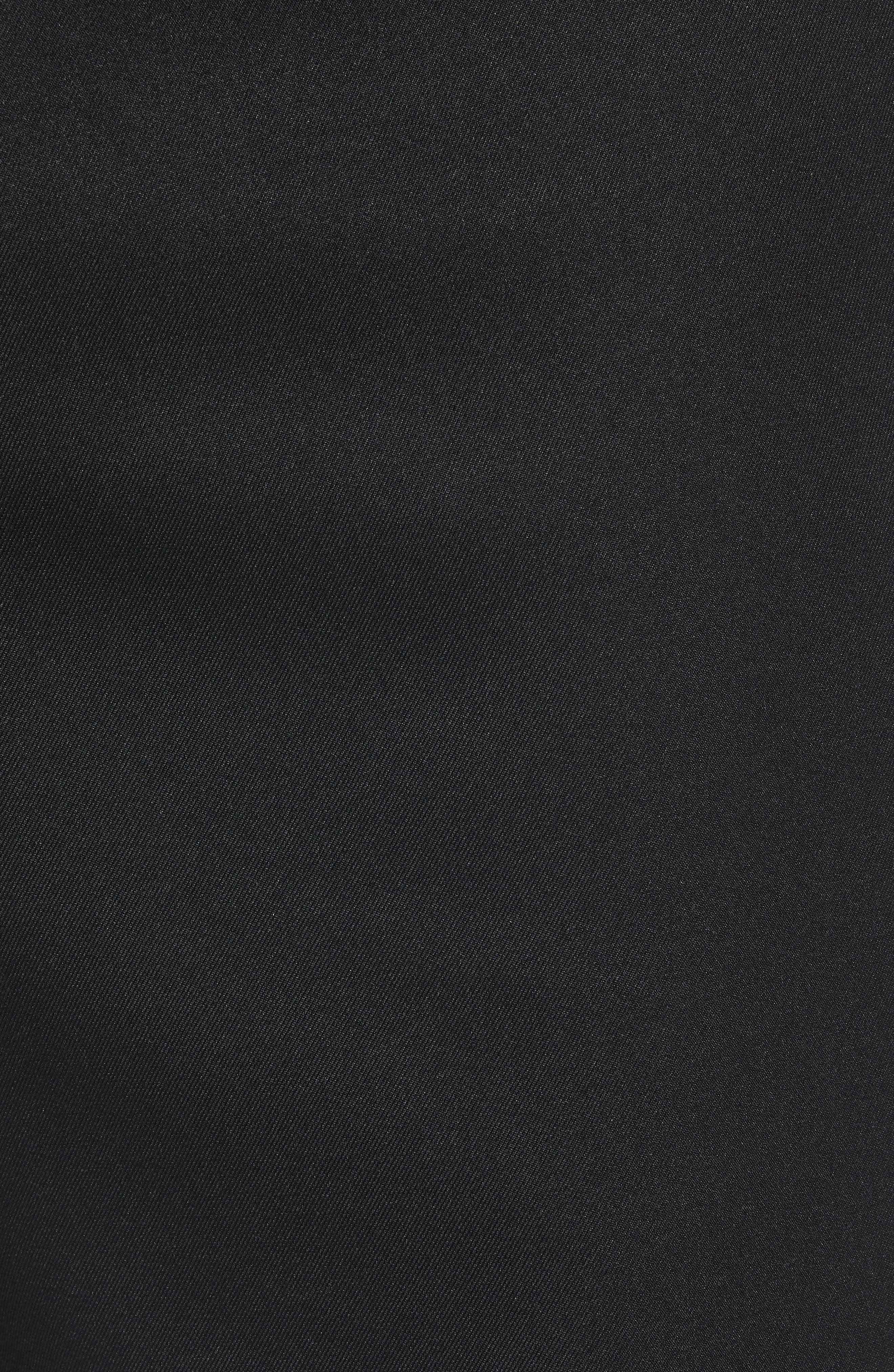 PETER MILLAR, Salem High Drape Performance Shorts, Alternate thumbnail 5, color, BLACK