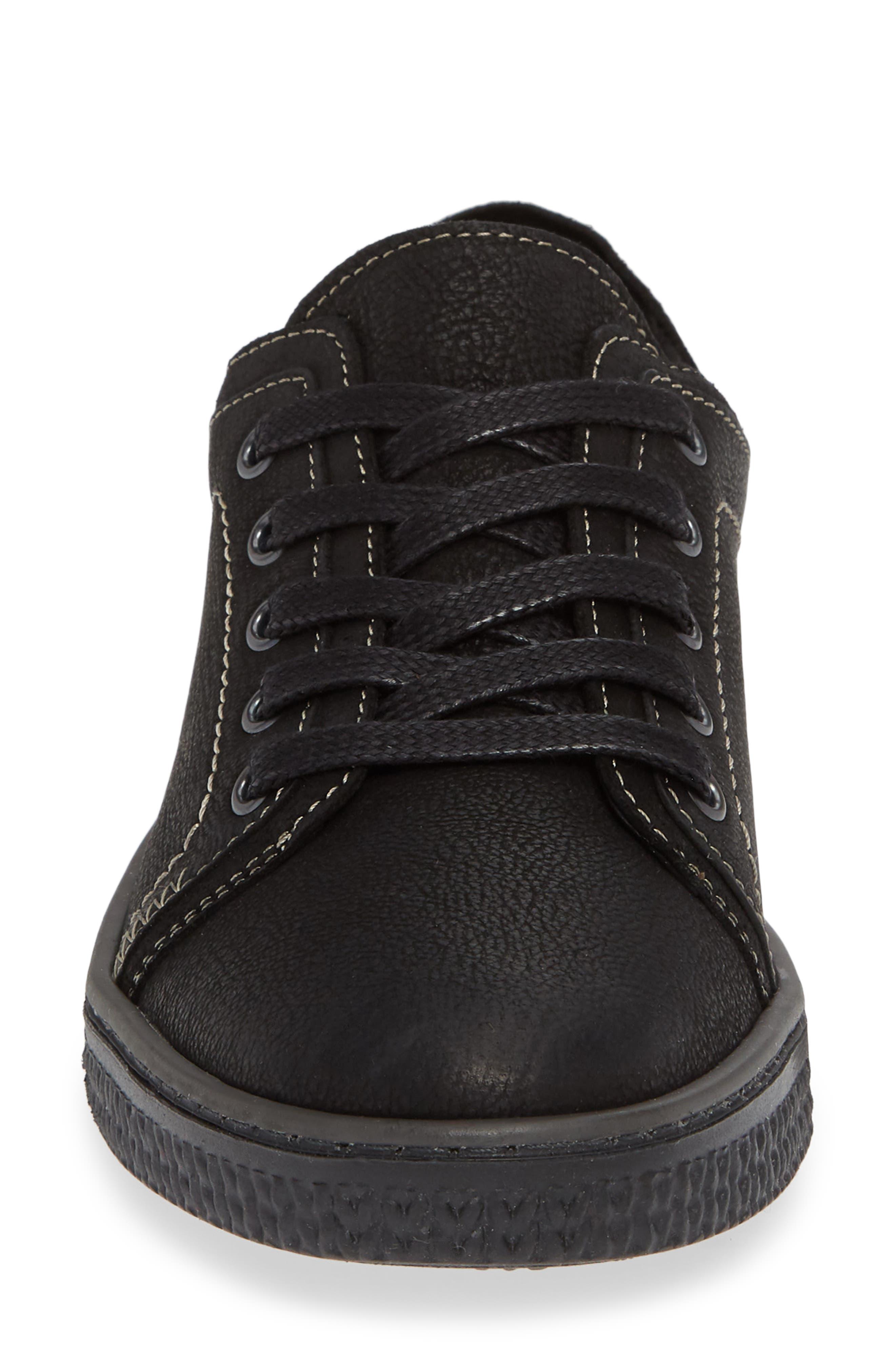 CLOUD, Nagano Low Top Sneaker, Alternate thumbnail 4, color, 001