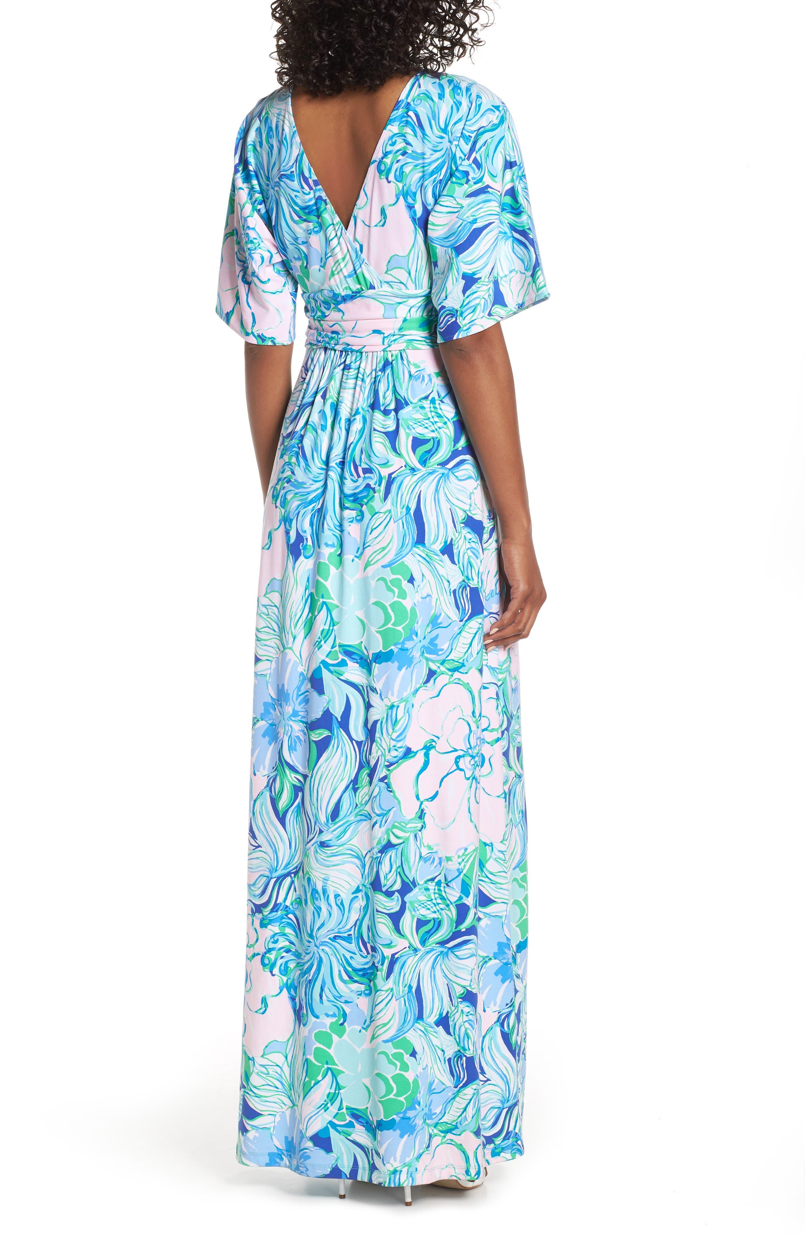 LILLY PULITZER<SUP>®</SUP>, Parigi Maxi Dress, Alternate thumbnail 2, color, MULTI PARTY THYME