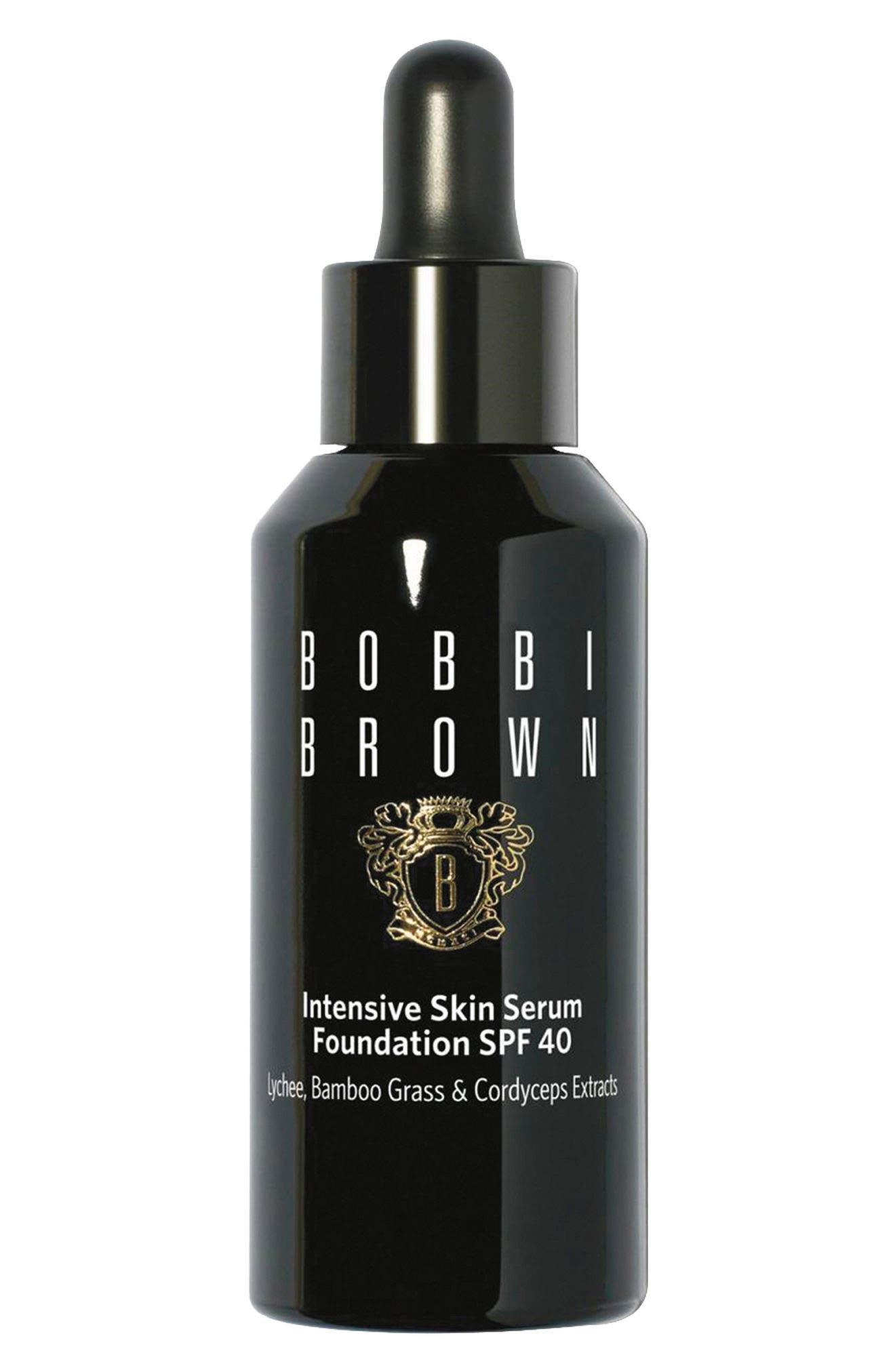 BOBBI BROWN, Intensive Skin Serum Foundation SPF 40, Main thumbnail 1, color, 06.5 WARM ALMOND