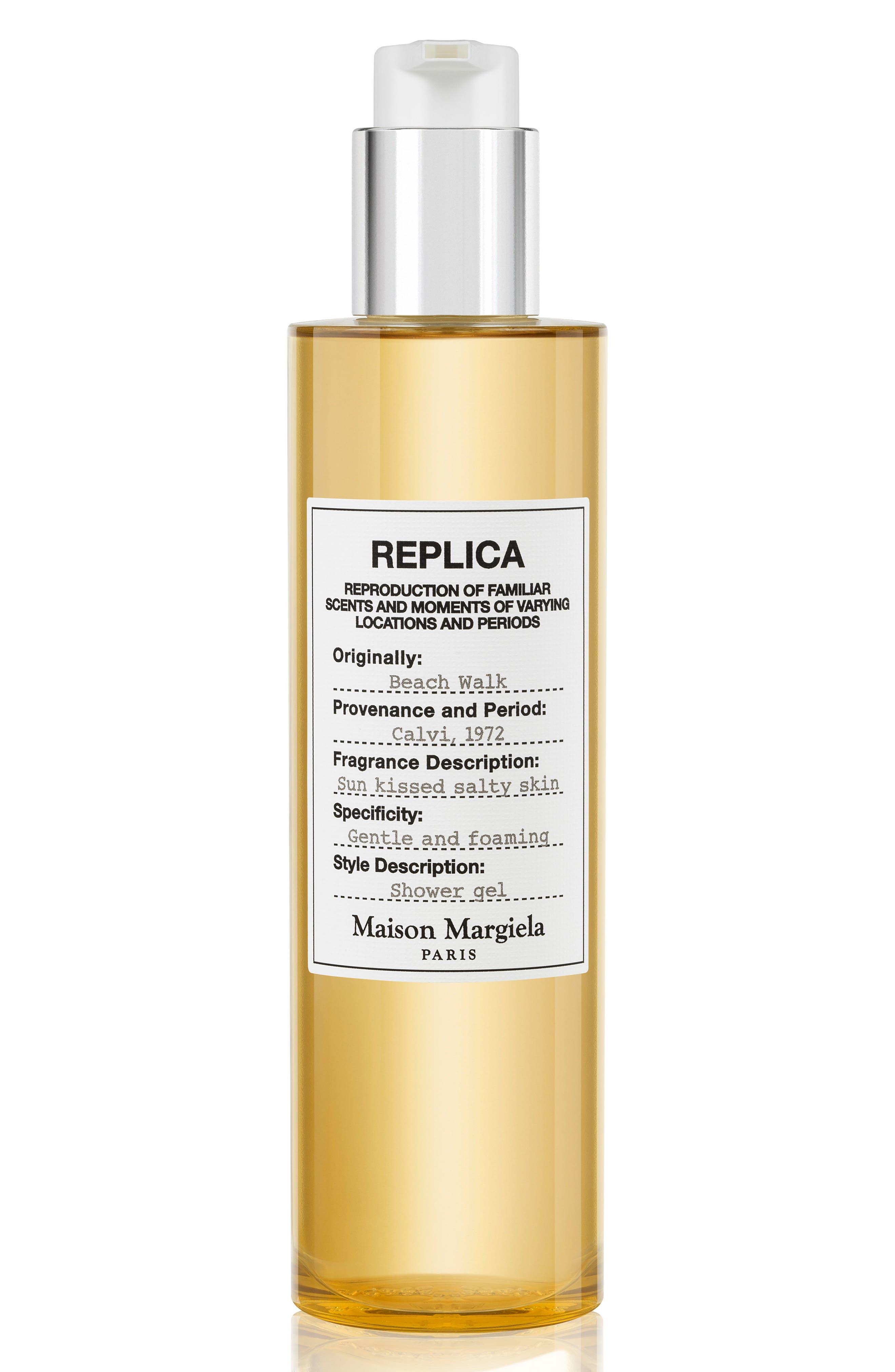 MAISON MARGIELA, Replica Beach Walk Perfumed Shower Gel, Main thumbnail 1, color, NO COLOR