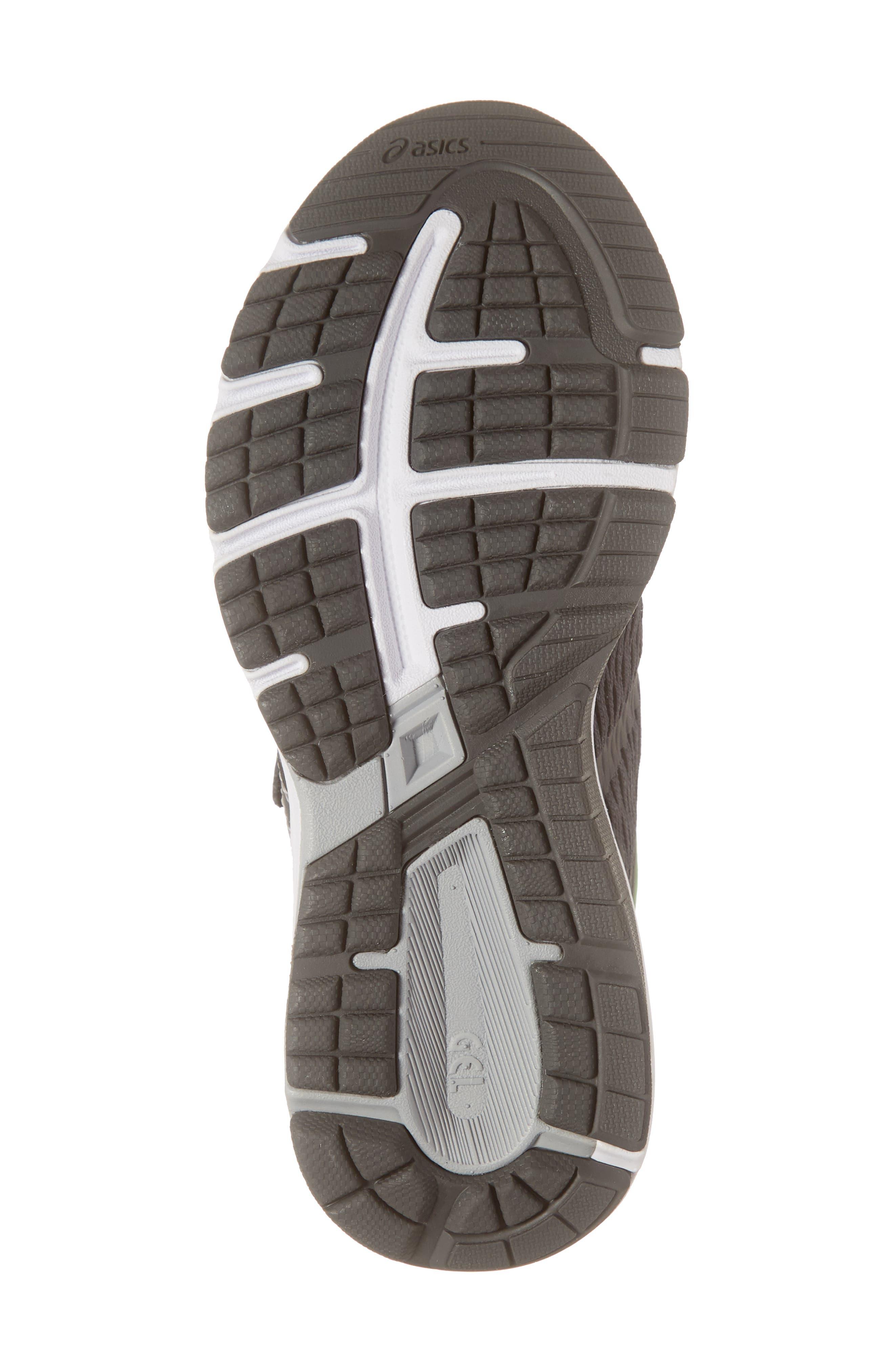 ASICS<SUP>®</SUP>, GT 1000 7 Running Shoe, Alternate thumbnail 6, color, DARK GREY/ DARK GREY
