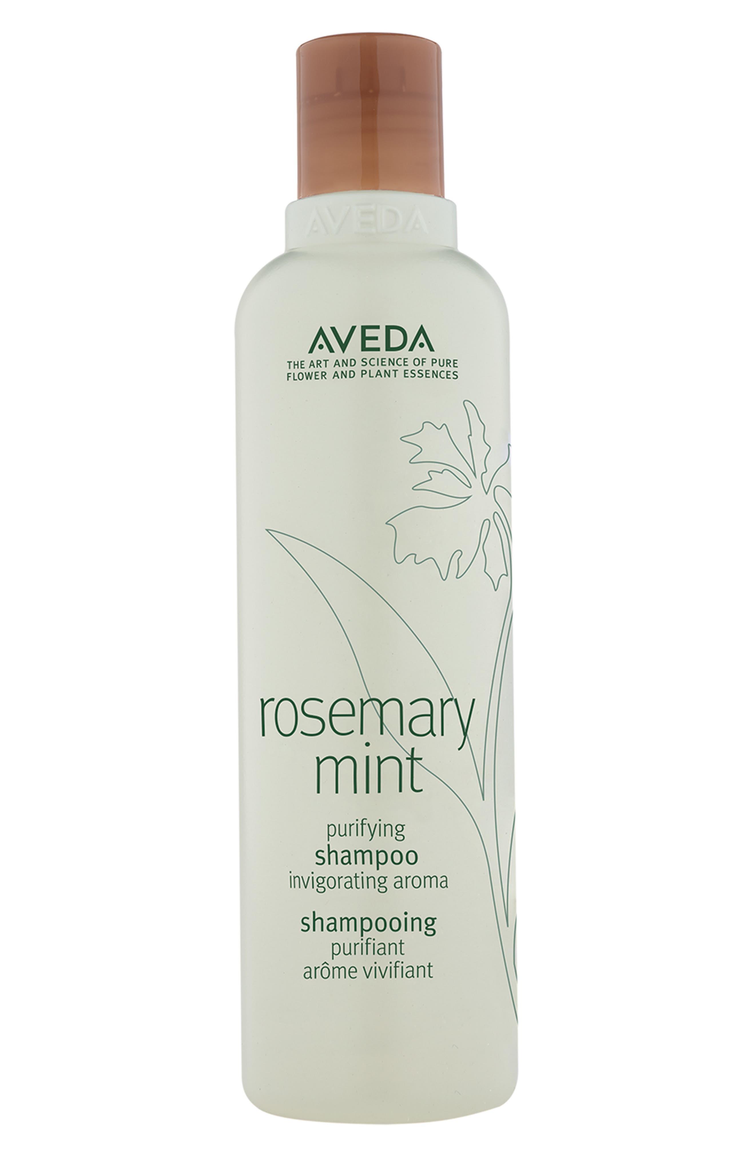 AVEDA Rosemary Mint Purifying Shampoo, Main, color, NO COLOR