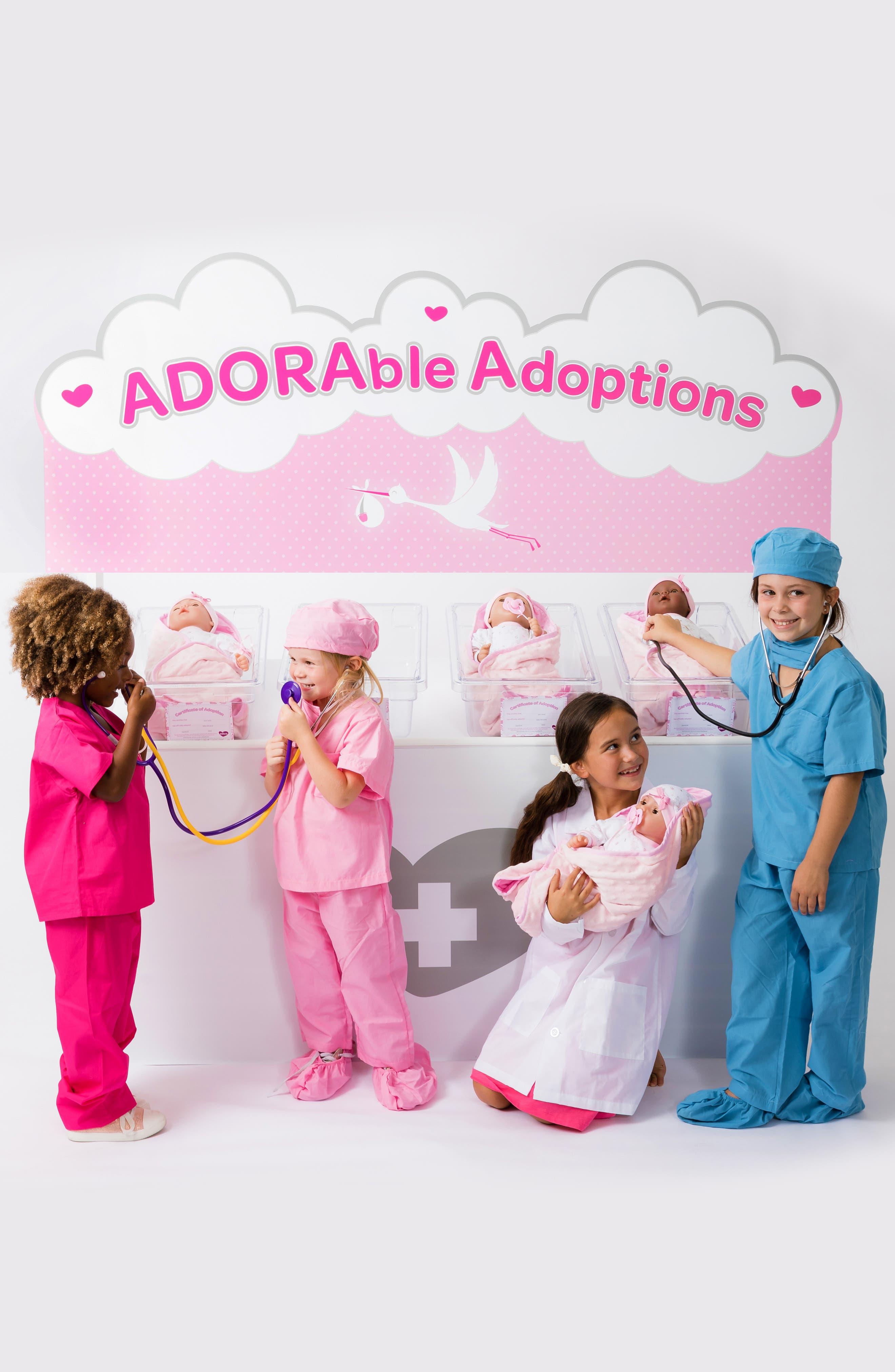 ADORA, Precious Baby Doll with Adoption Certificate, Alternate thumbnail 5, color, PRECIOUS