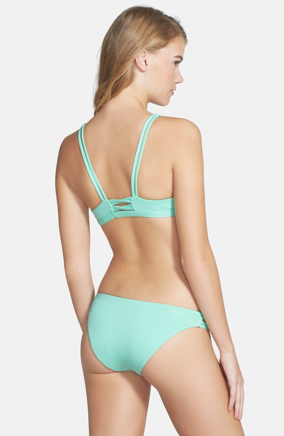 RIP CURL, 'Mirage' Reversible Bikini Top, Alternate thumbnail 3, color, 300