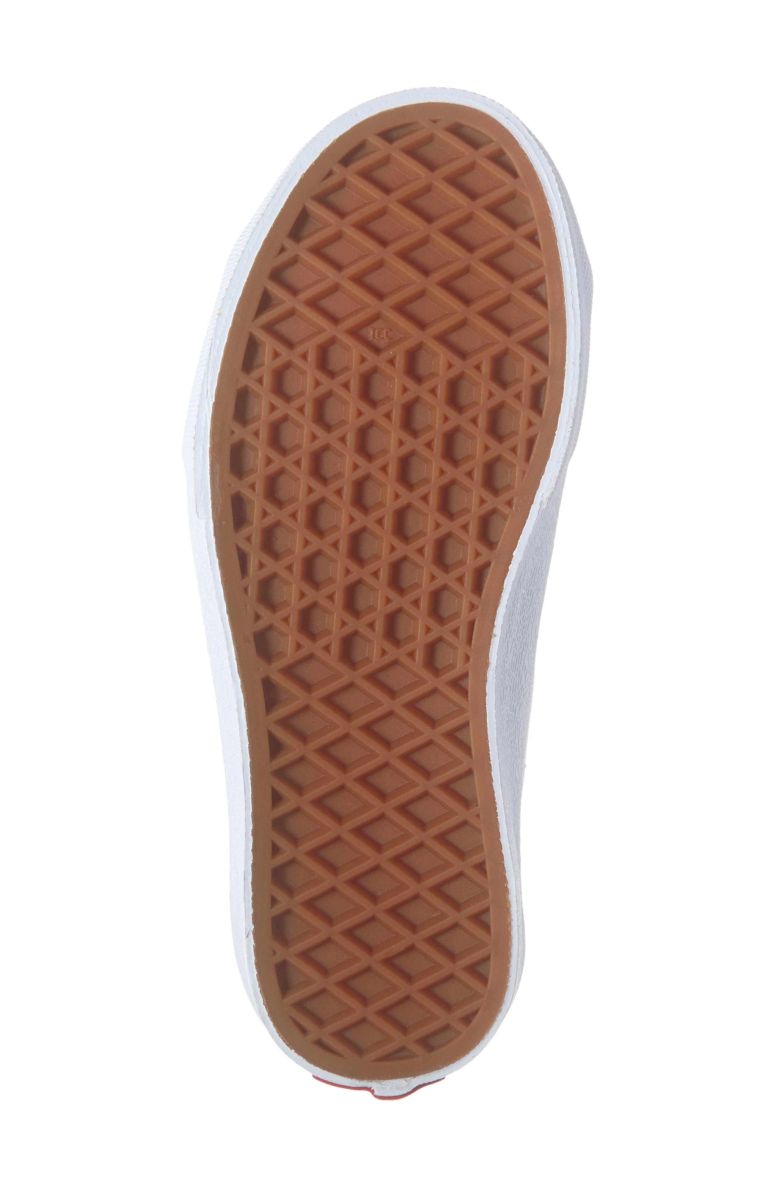 VANS, Style 23V Sneaker, Alternate thumbnail 6, color, BLUE TINT/ STRAWBERRY PINK