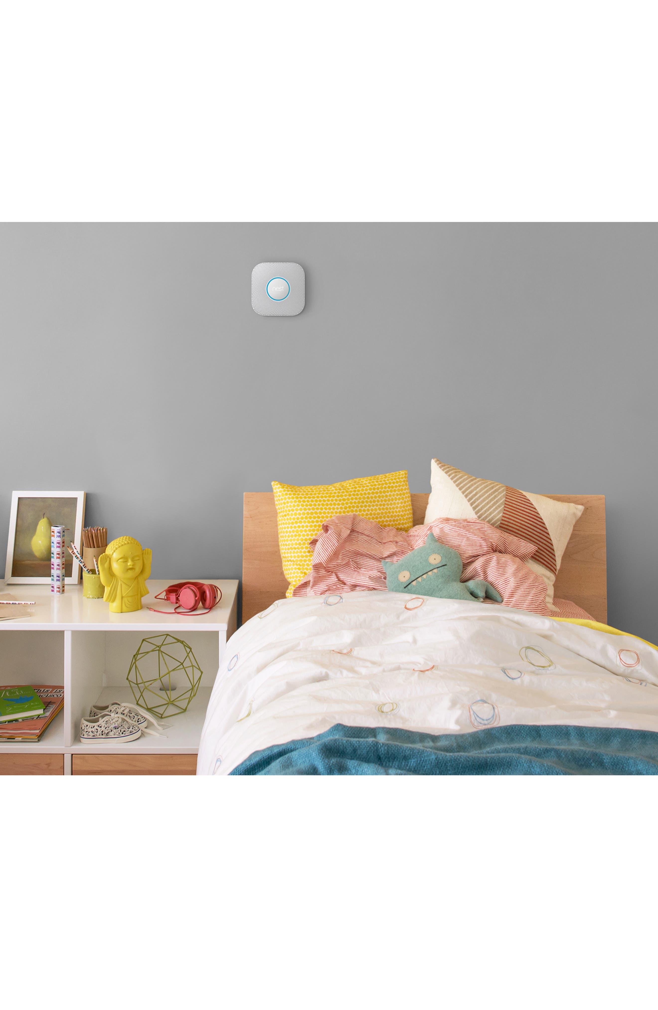 NEST, Protect Smoke & Carbon Monoxide Alarm, Alternate thumbnail 3, color, 100