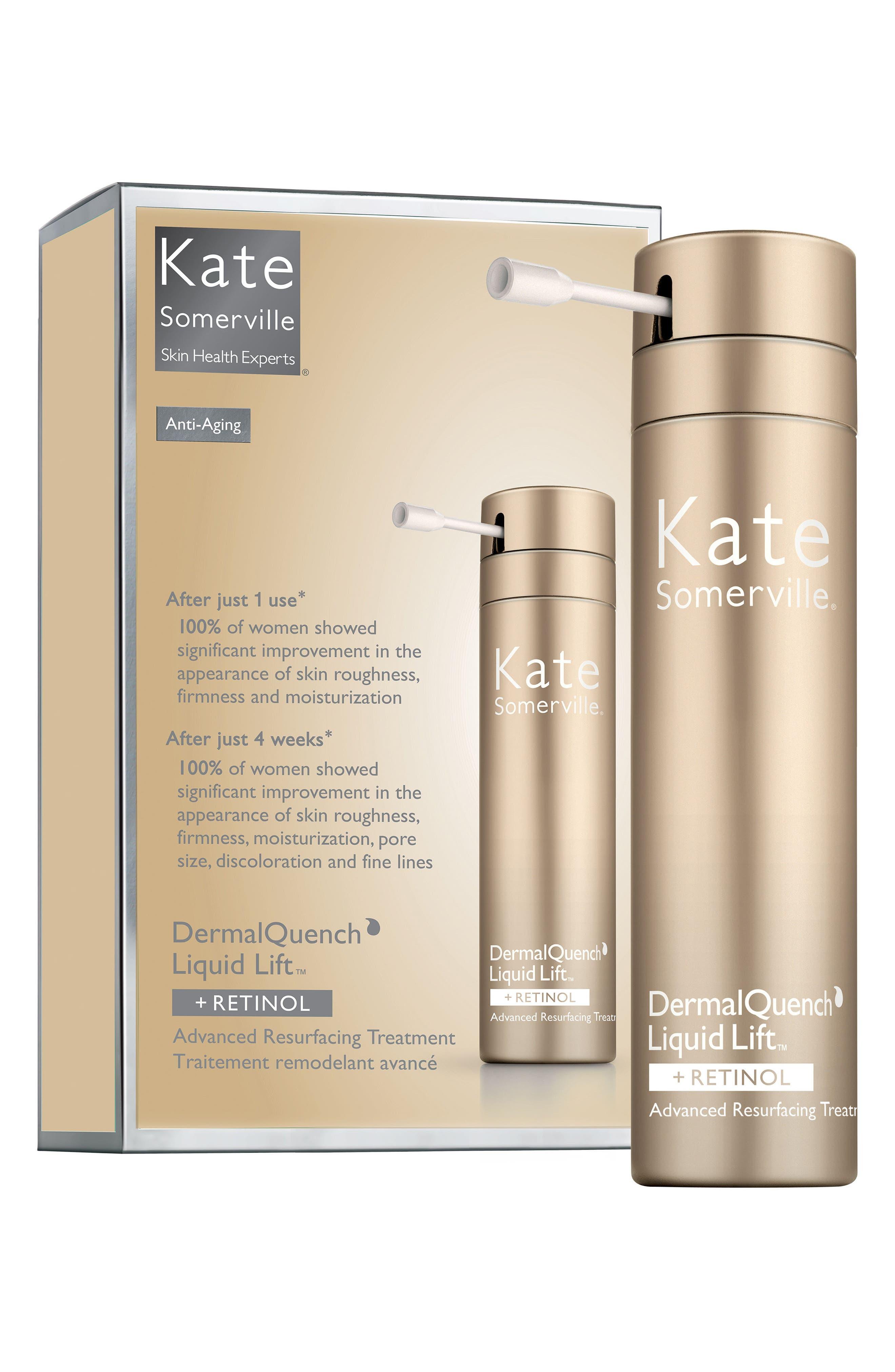 KATE SOMERVILLE<SUP>®</SUP>, DermalQuench Liquid Lift<sup>™</sup> + Retinol Advanced Resurfacing Treatment, Alternate thumbnail 4, color, NO COLOR