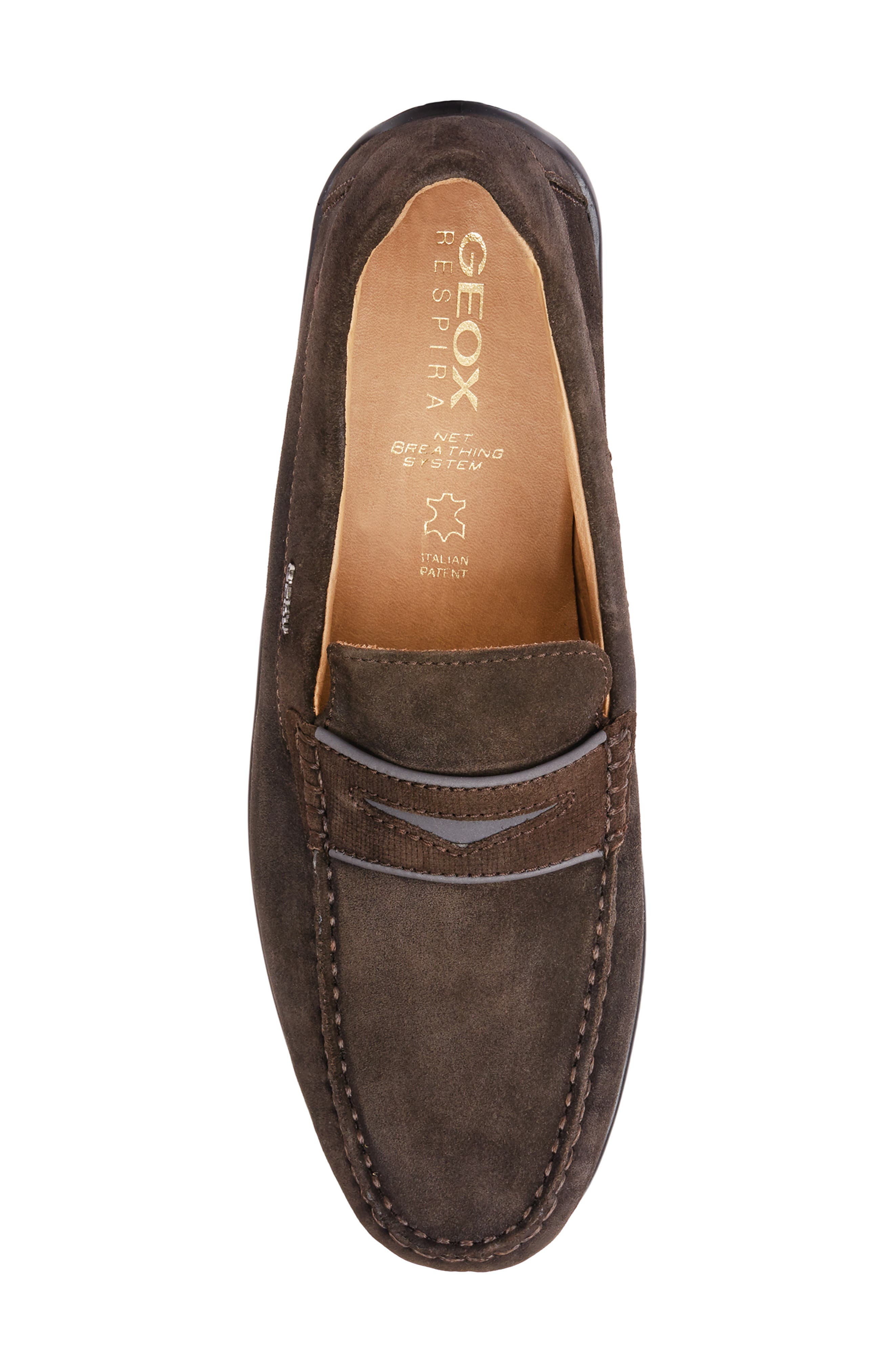 GEOX, Xense Mox 15 Penny Loafer, Alternate thumbnail 4, color, 248