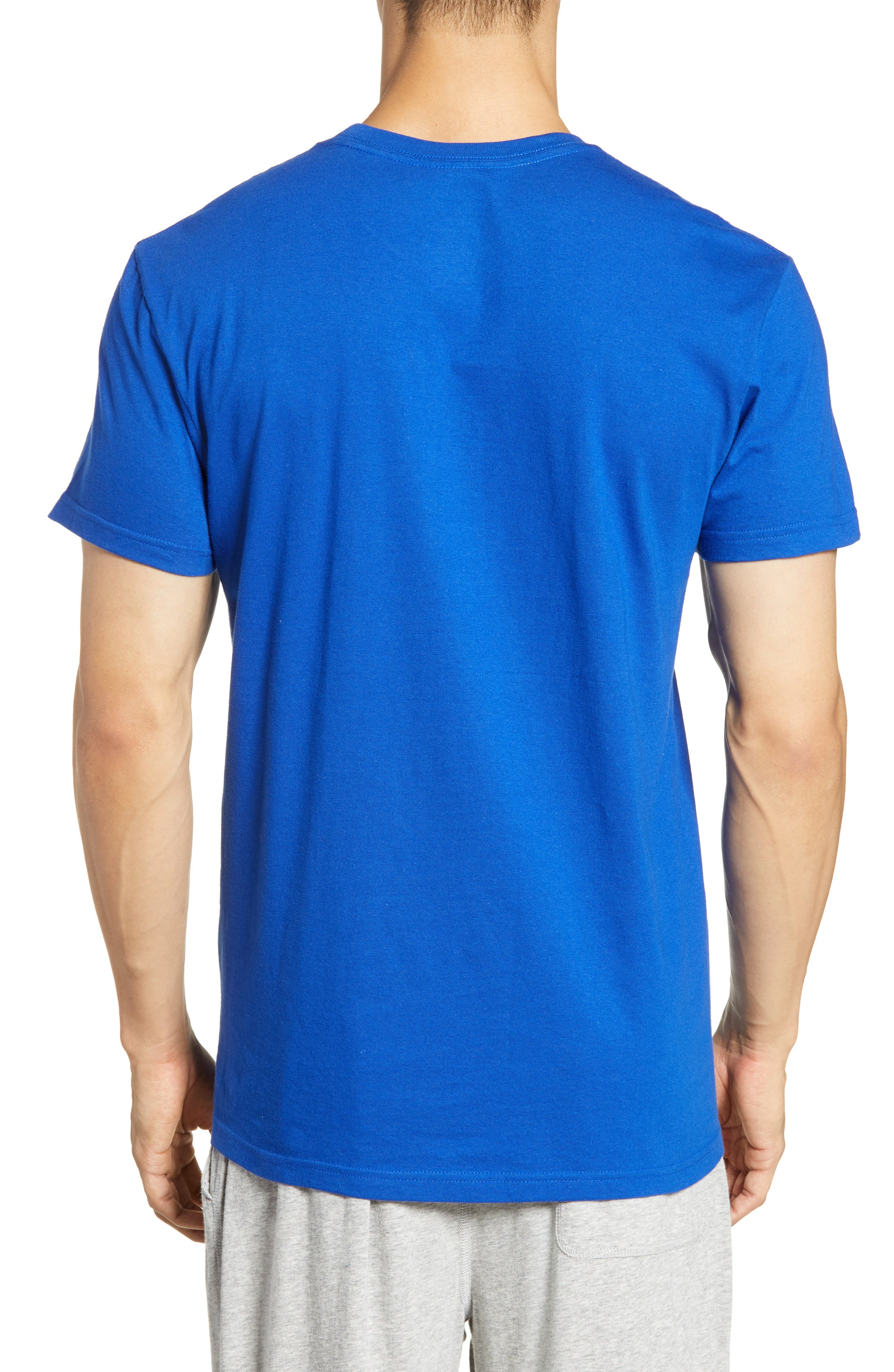 POLO RALPH LAUREN, 3-Pack Crewneck T-Shirts, Alternate thumbnail 3, color, CRUISE ROYAL/ RED/ CRUISE NAVY