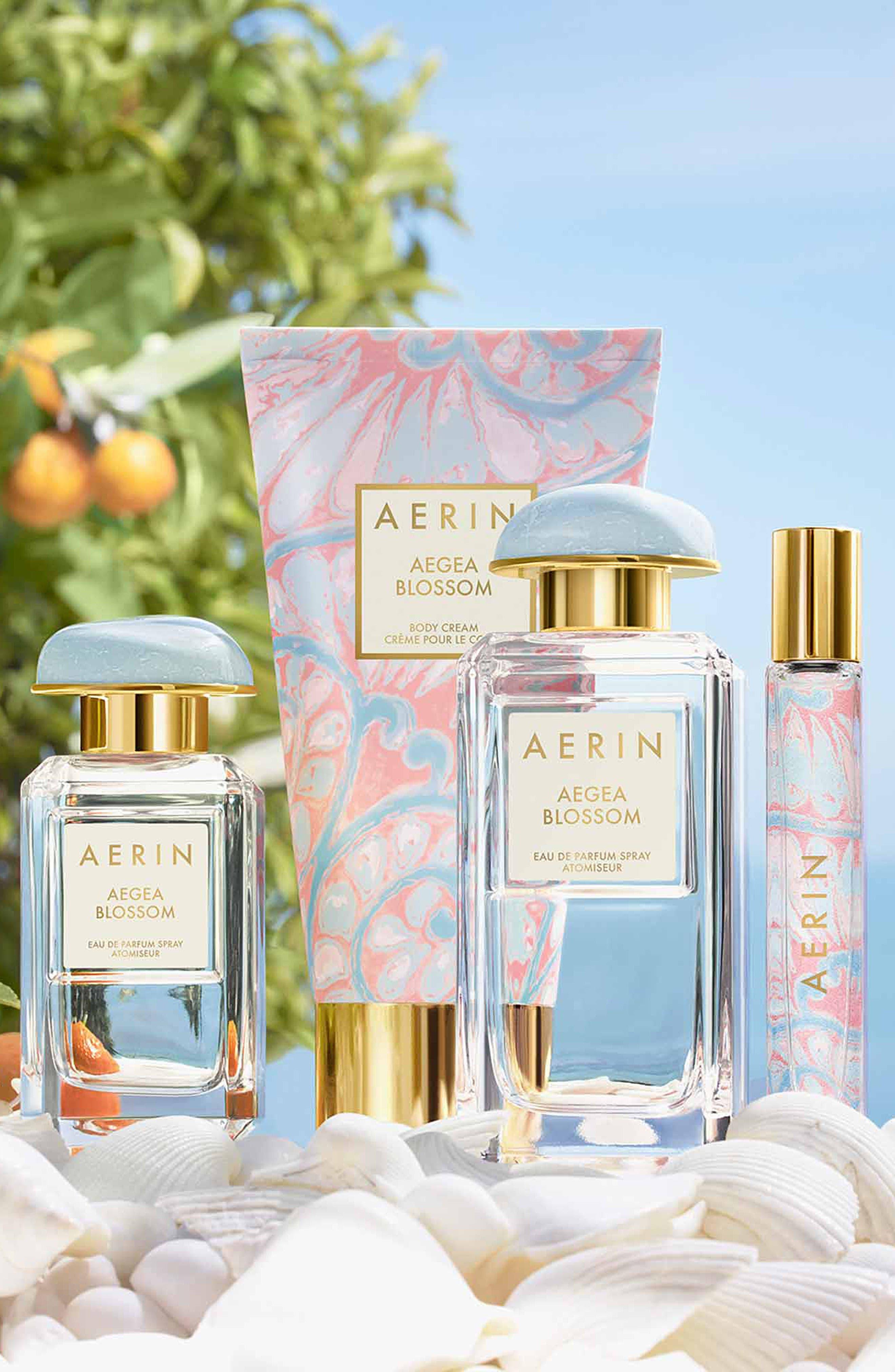 ESTÉE LAUDER, AERIN Beauty Aegea Blossom Body Cream, Alternate thumbnail 2, color, NO COLOR