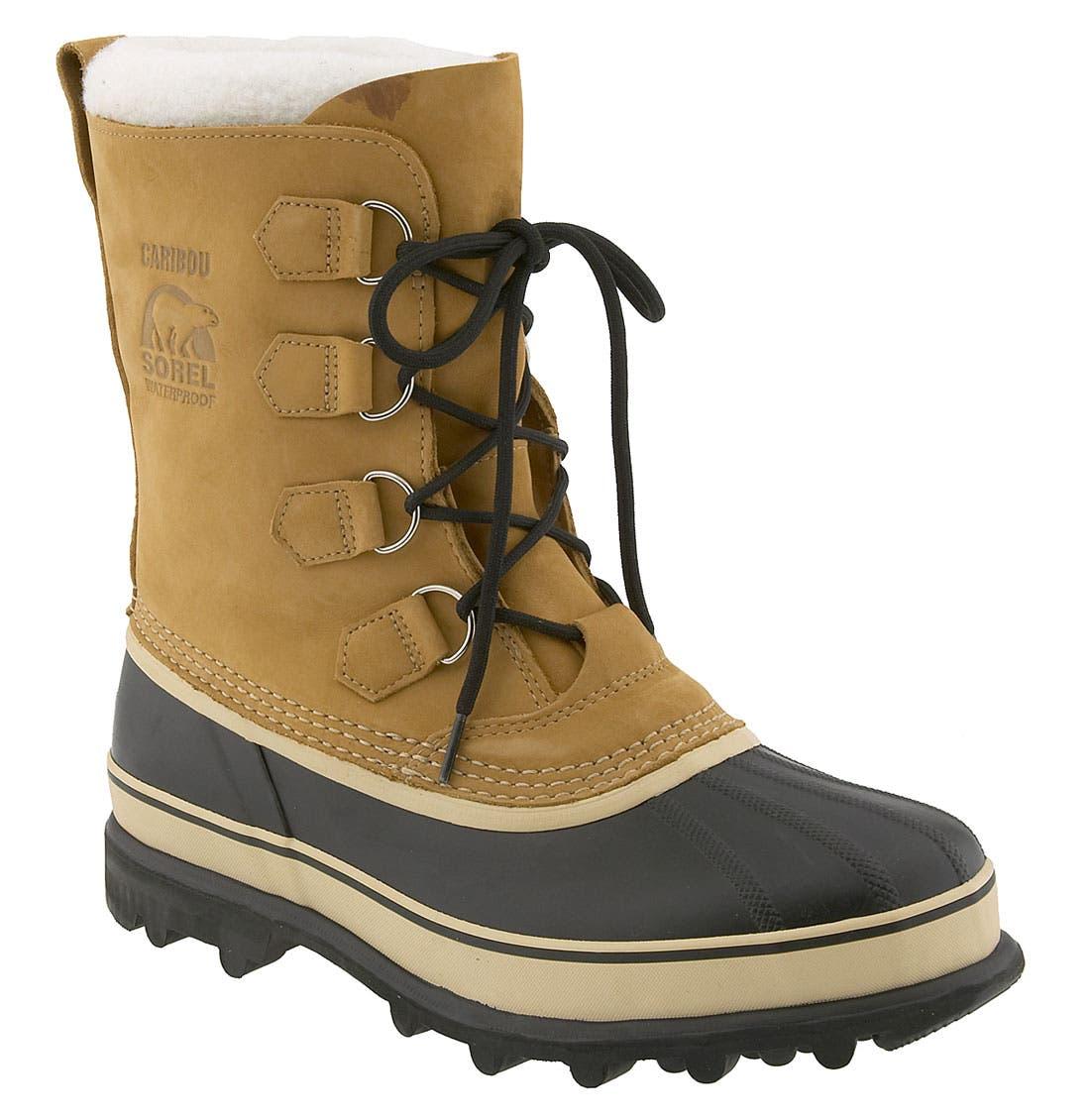 SOREL, 'Caribou' Boot, Main thumbnail 1, color, 281