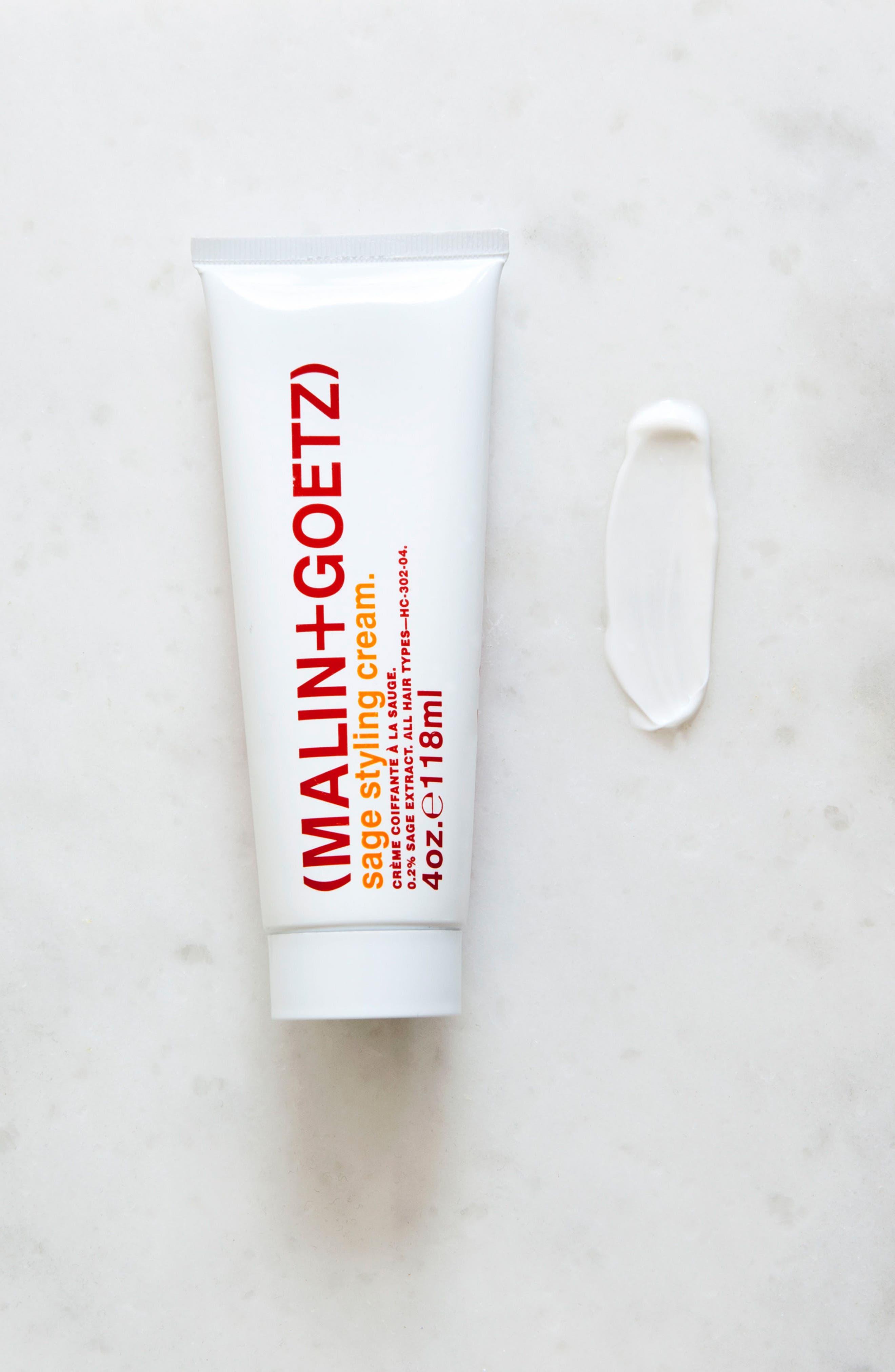 MALIN+GOETZ, Sage Styling Cream, Alternate thumbnail 2, color, NO COLOR
