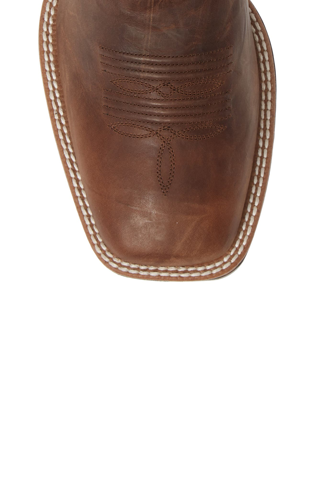 ARIAT, Plano Cowboy Boot, Alternate thumbnail 5, color, TANNIN/ TACK ROM LEATHER