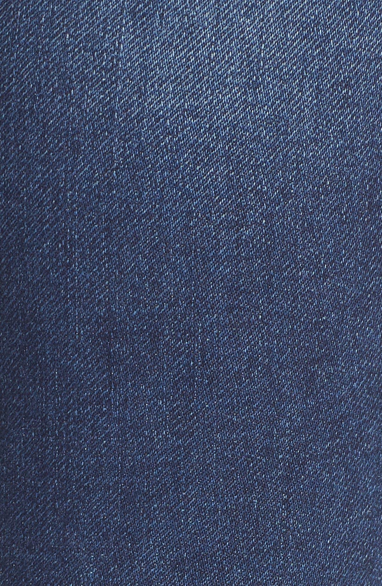 PROSPERITY DENIM, Skinny Jeans, Alternate thumbnail 5, color, DARK