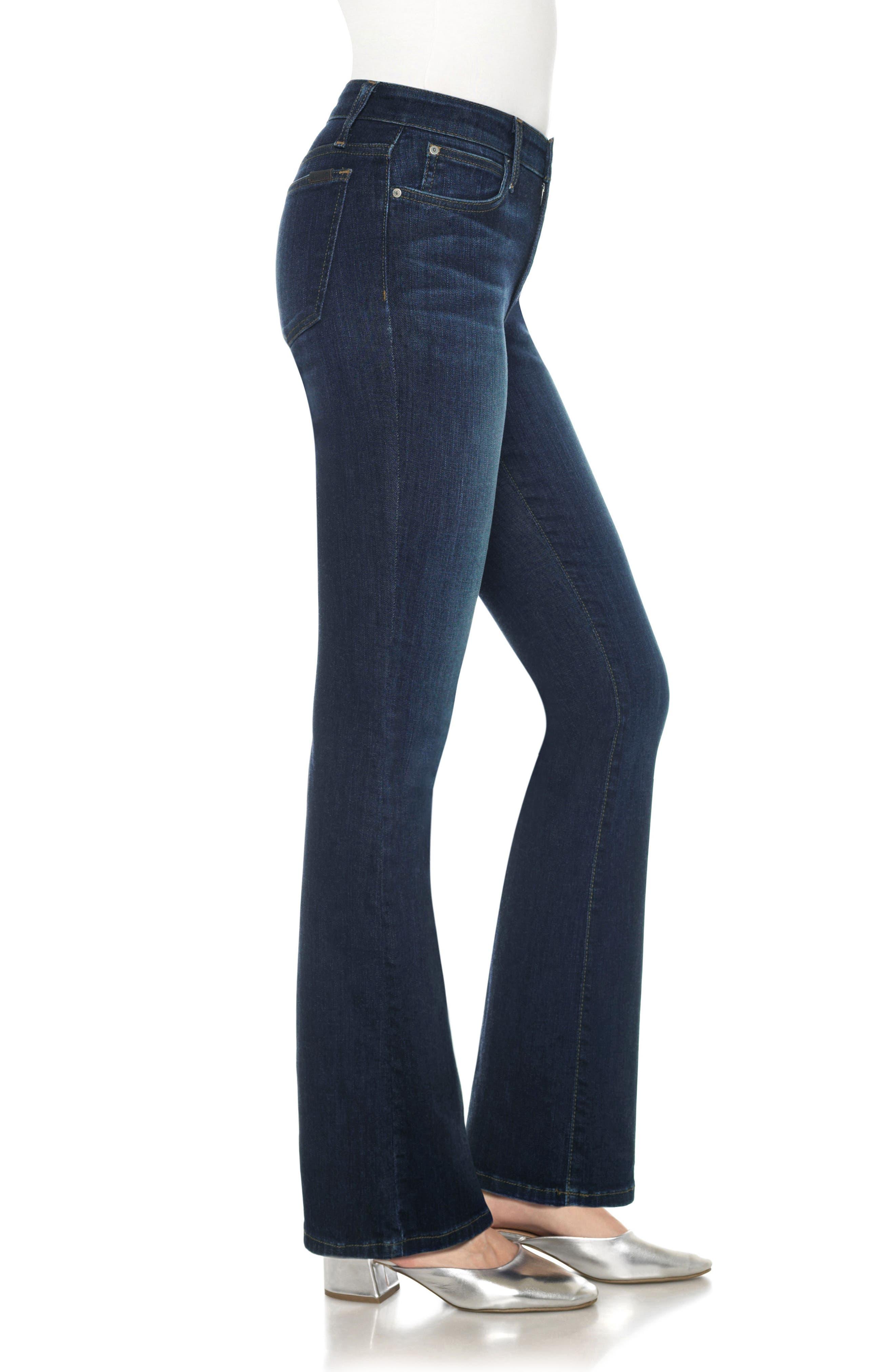 JOE'S, Flawless - Provocateur Bootcut Jeans, Alternate thumbnail 3, color, 401