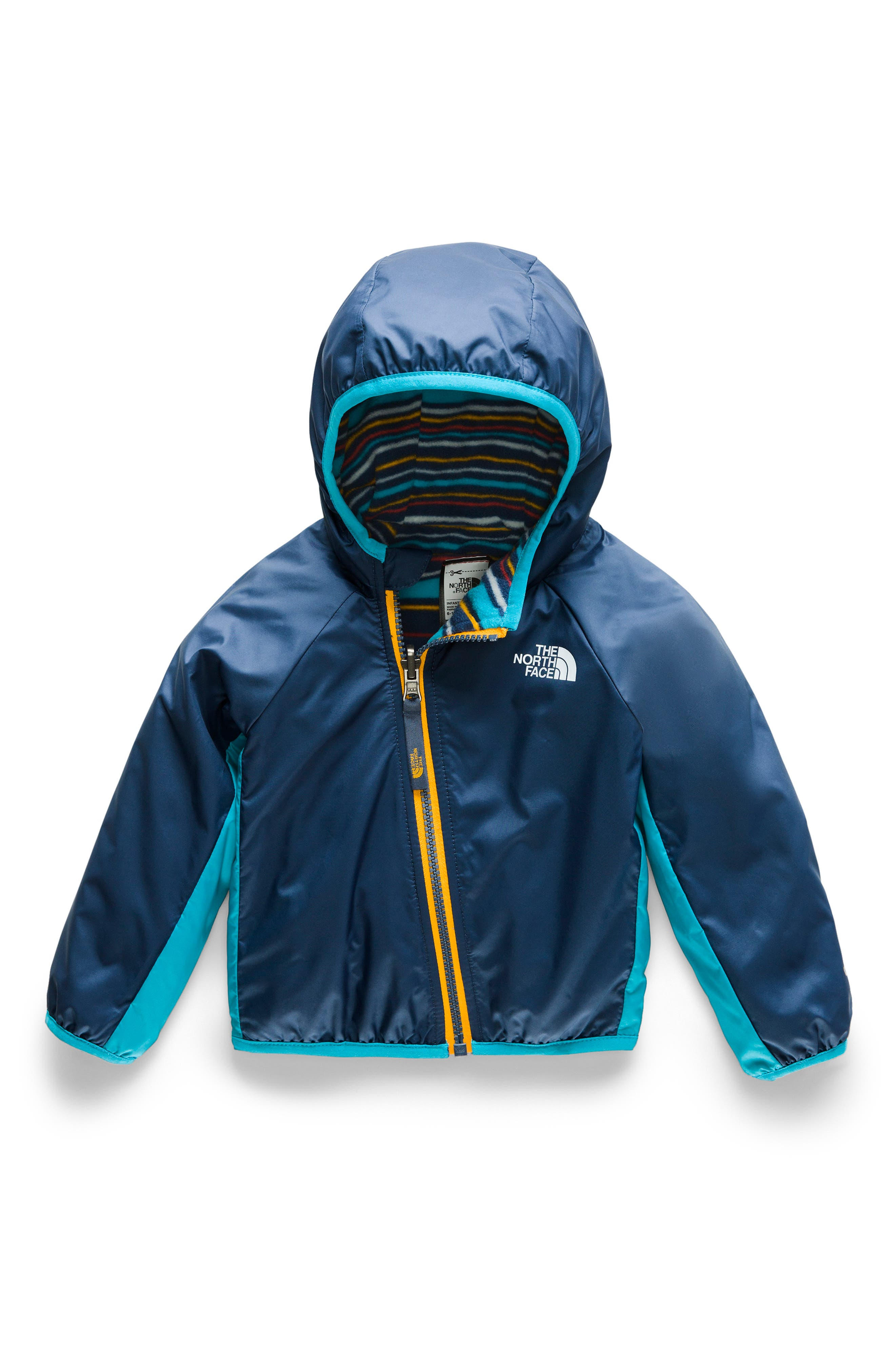THE NORTH FACE Breezeway Reversible Water Repellent Jacket, Main, color, SHADY BLUE