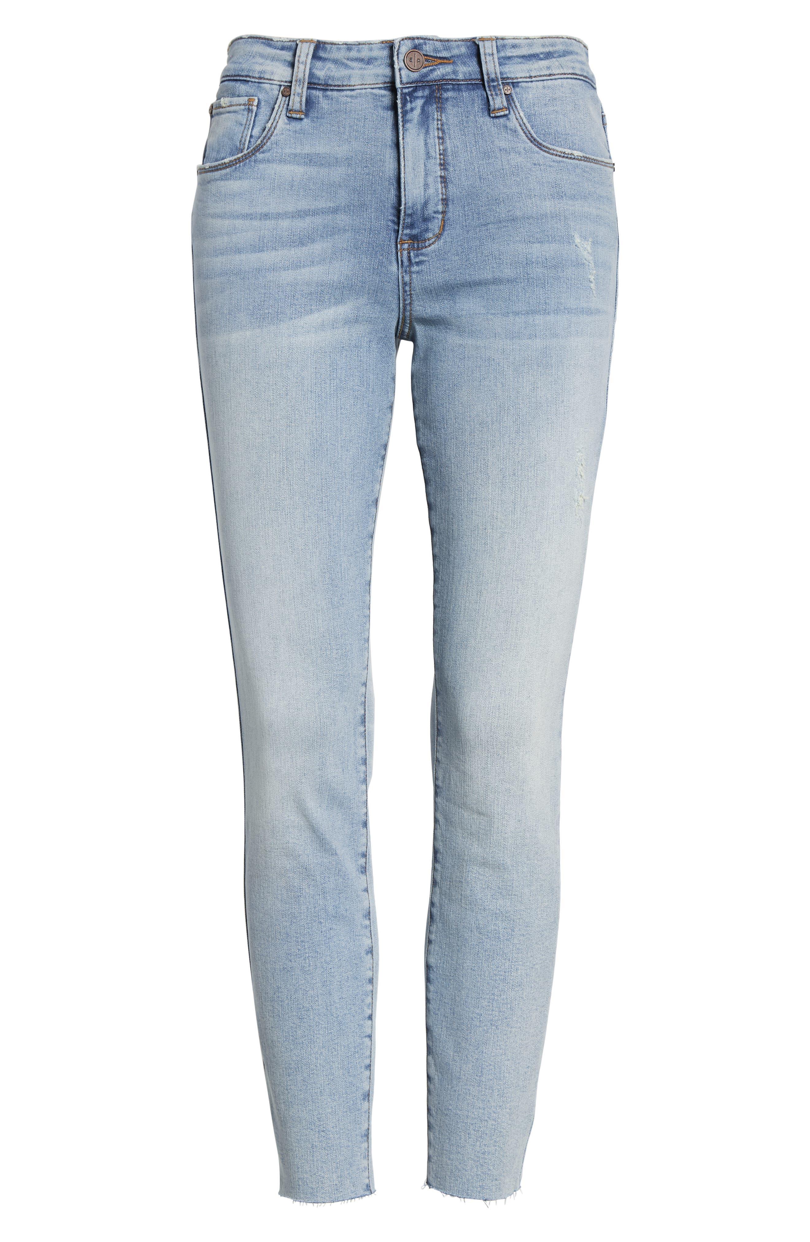 BP., High Waist Skinny Jeans, Alternate thumbnail 7, color, 400