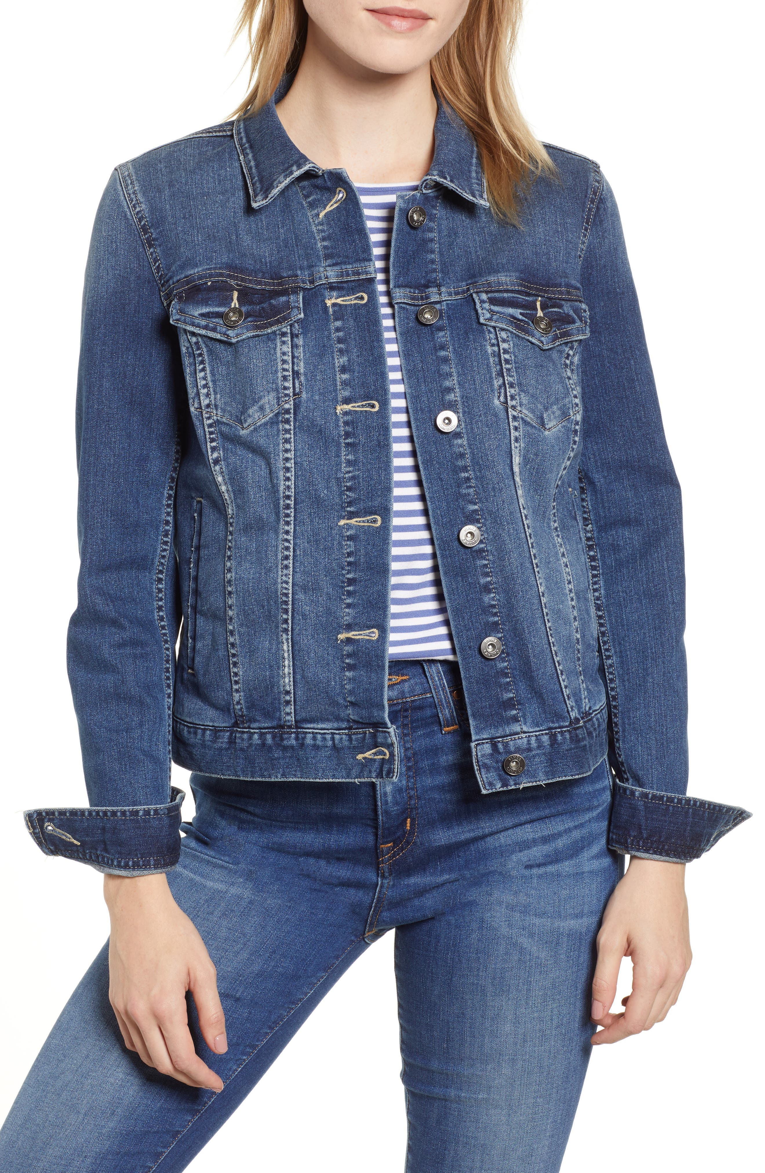 VINCE CAMUTO, Two by Vince Camuto Jean Jacket, Alternate thumbnail 2, color, AUTHENTIC