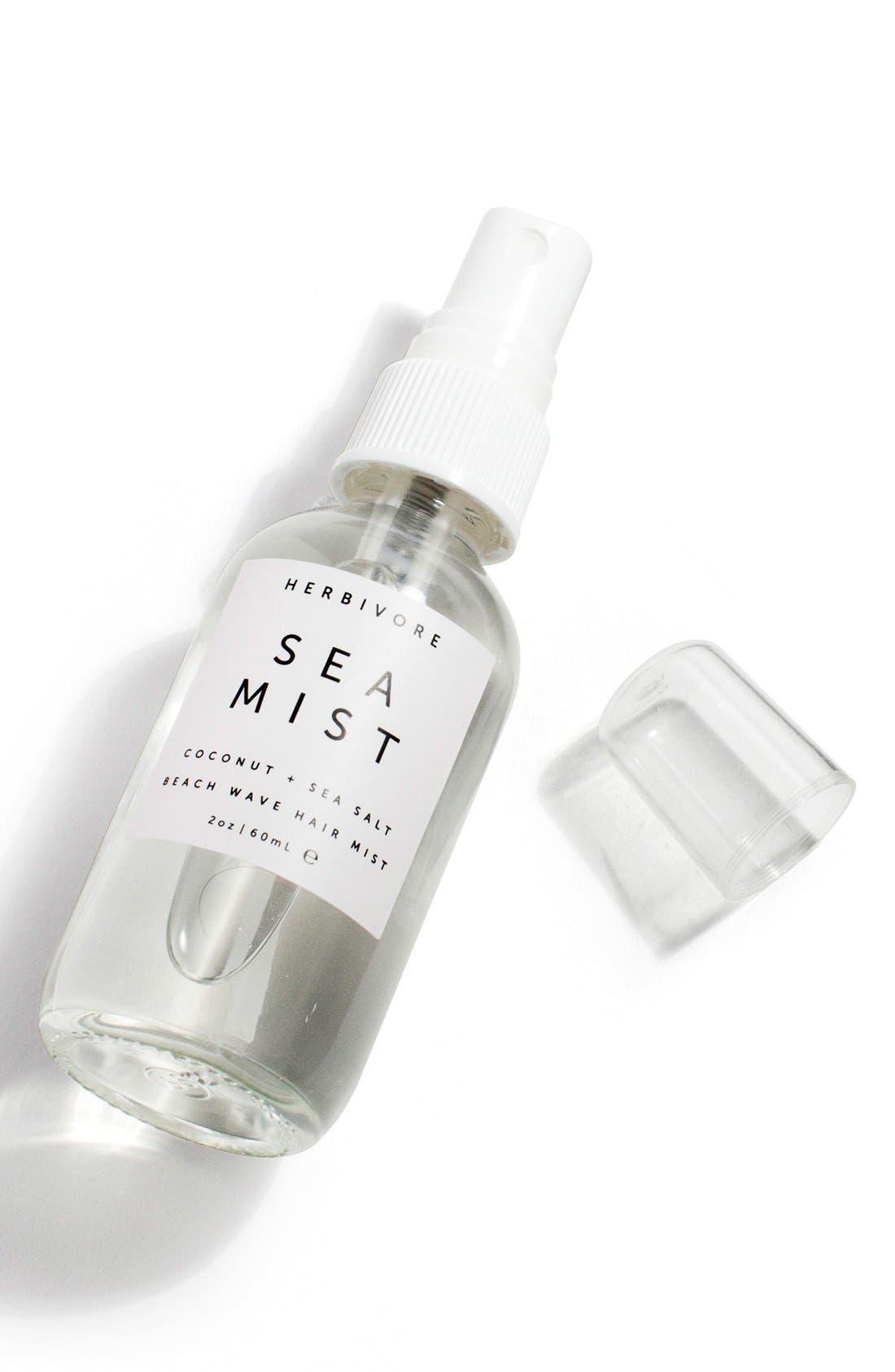 HERBIVORE BOTANICALS, Sea Mist Lavender Hair Texturizing Spray, Alternate thumbnail 4, color, NO COLOR
