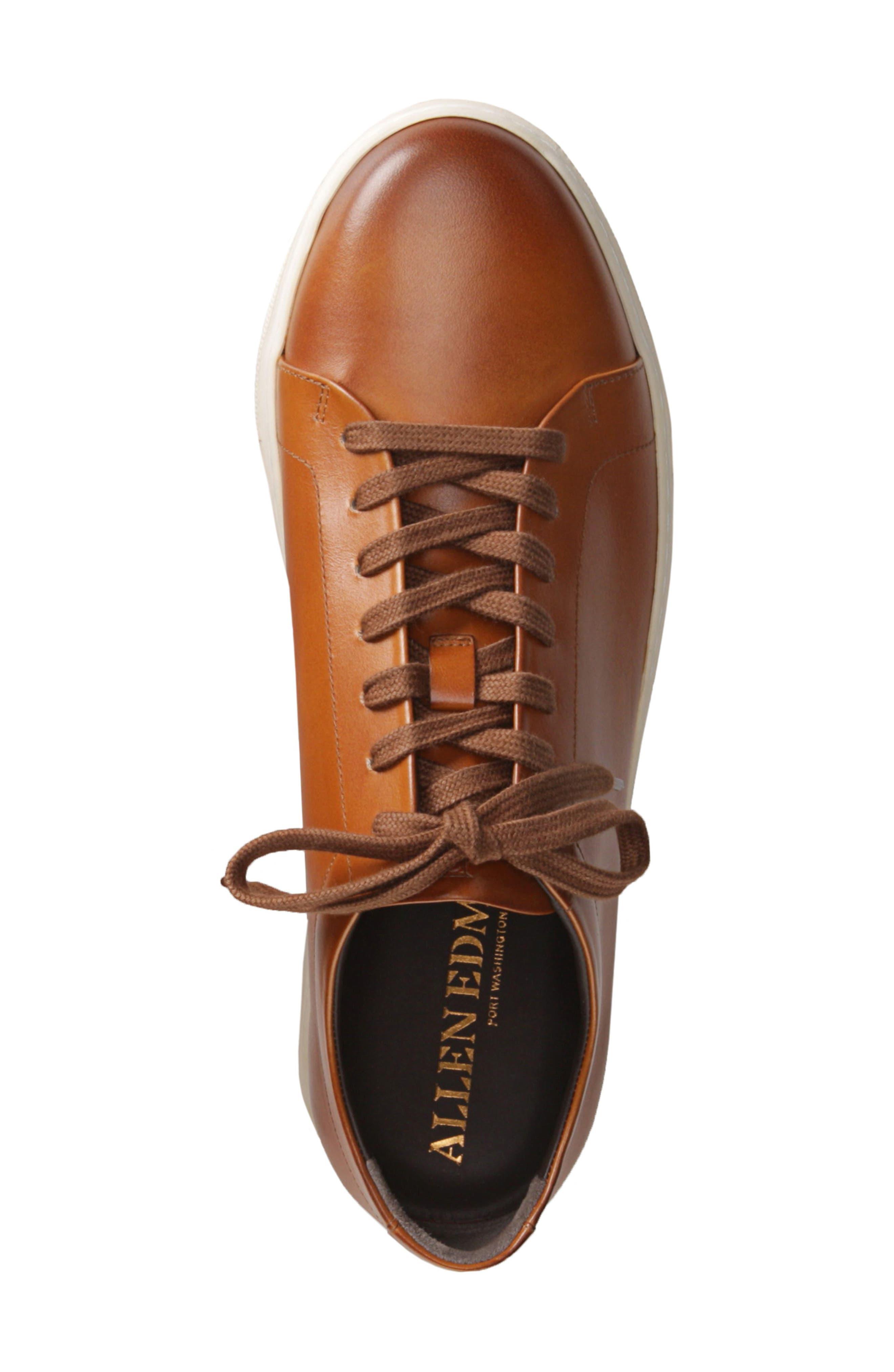 ALLEN EDMONDS, Canal Court Sneaker, Alternate thumbnail 4, color, 212