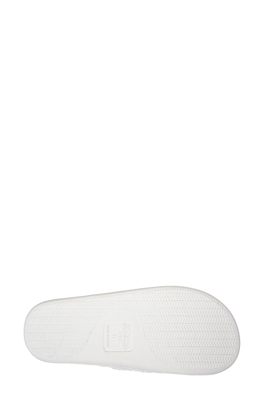 TEMPUR-PEDIC<SUP>®</SUP>, 'Airsock' Thong Slipper, Alternate thumbnail 3, color, CREAM