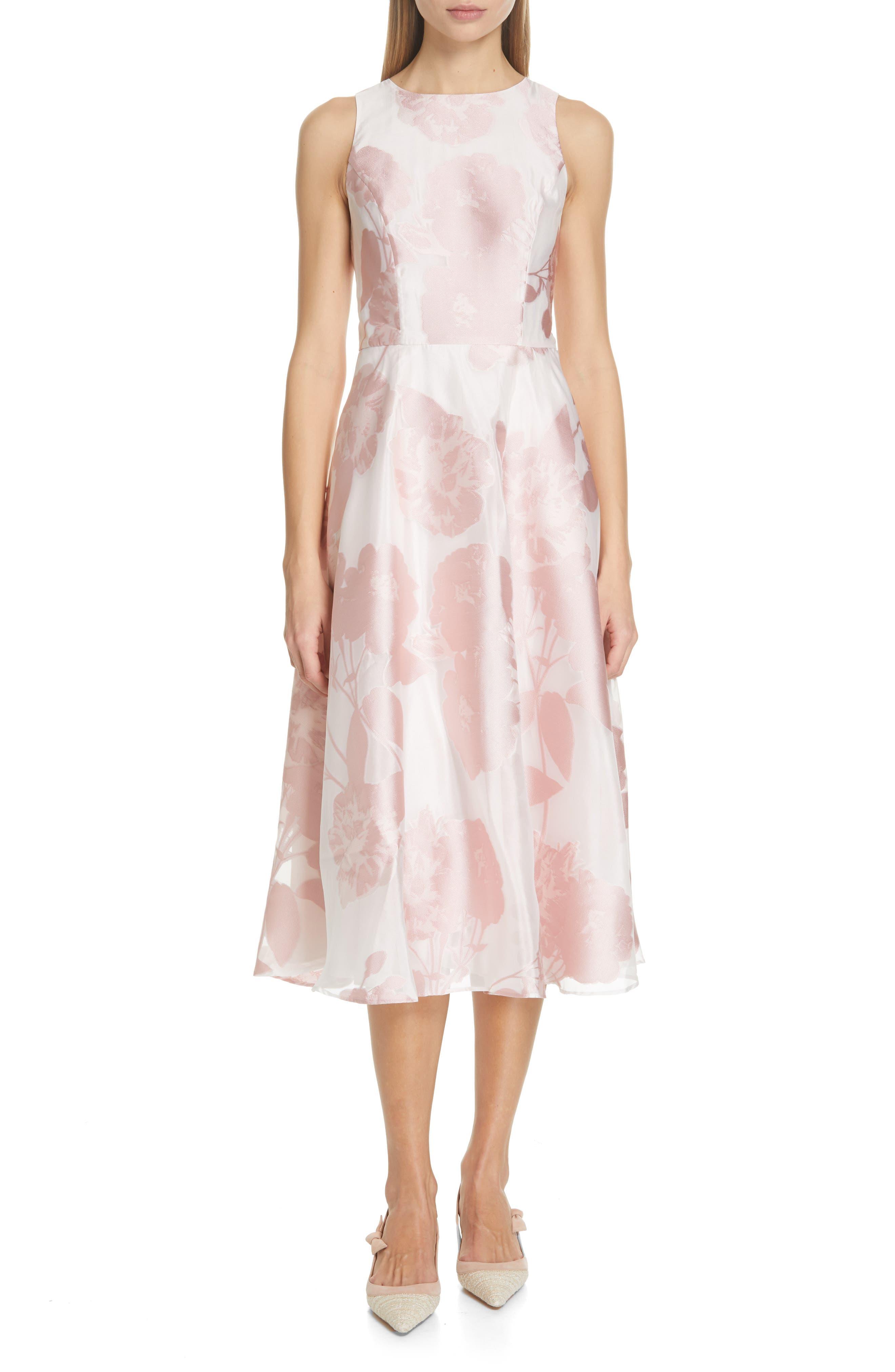 Ted Baker London Wylieh Jacquard Midi Dress