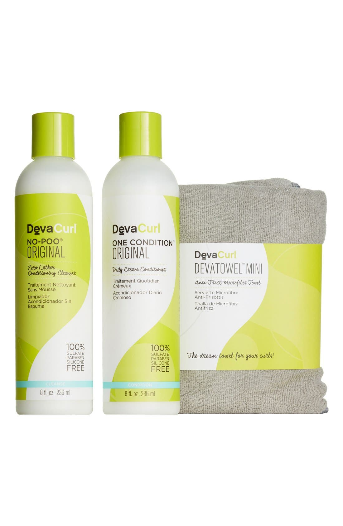 DEVACURL, How to Quit Shampoo The Cleanse & Condition Curl Kit, Alternate thumbnail 3, color, NO COLOR