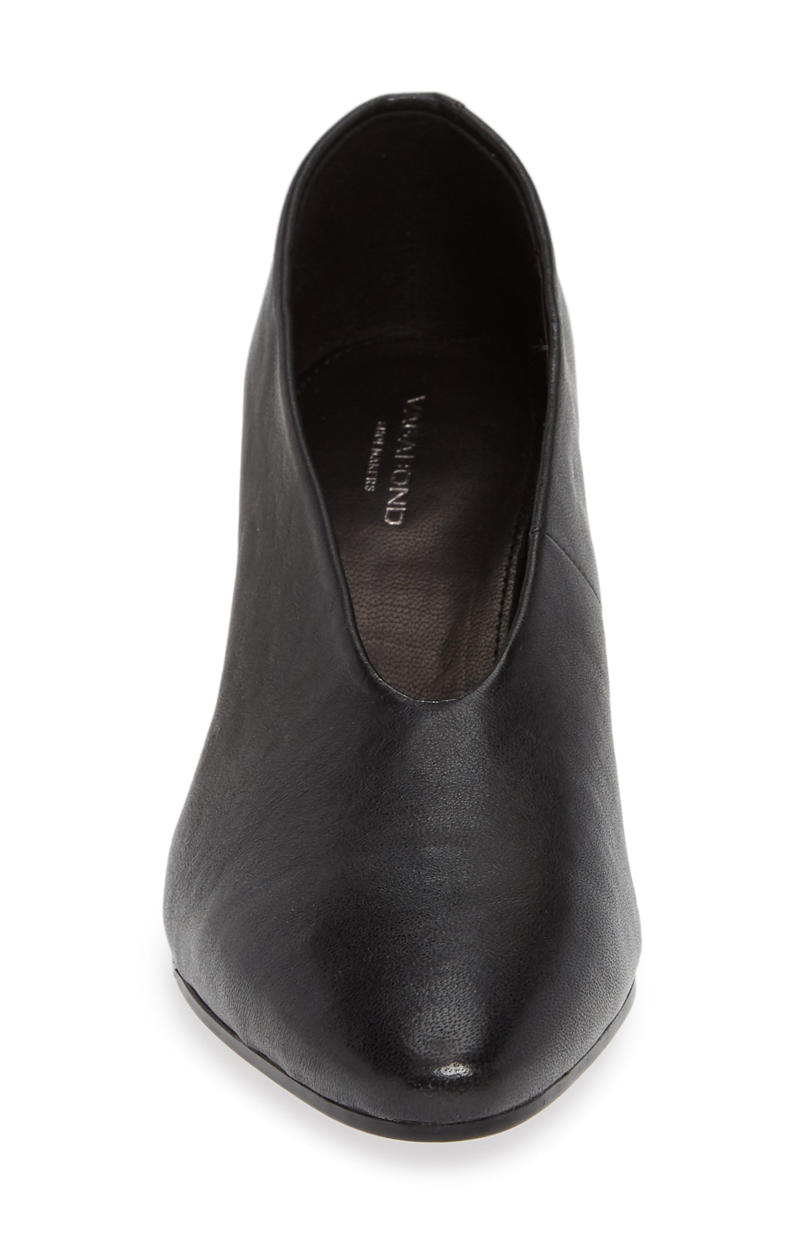 VAGABOND, Shoemakers Eve Pump, Alternate thumbnail 4, color, BLACK/ BLACK LEATHER