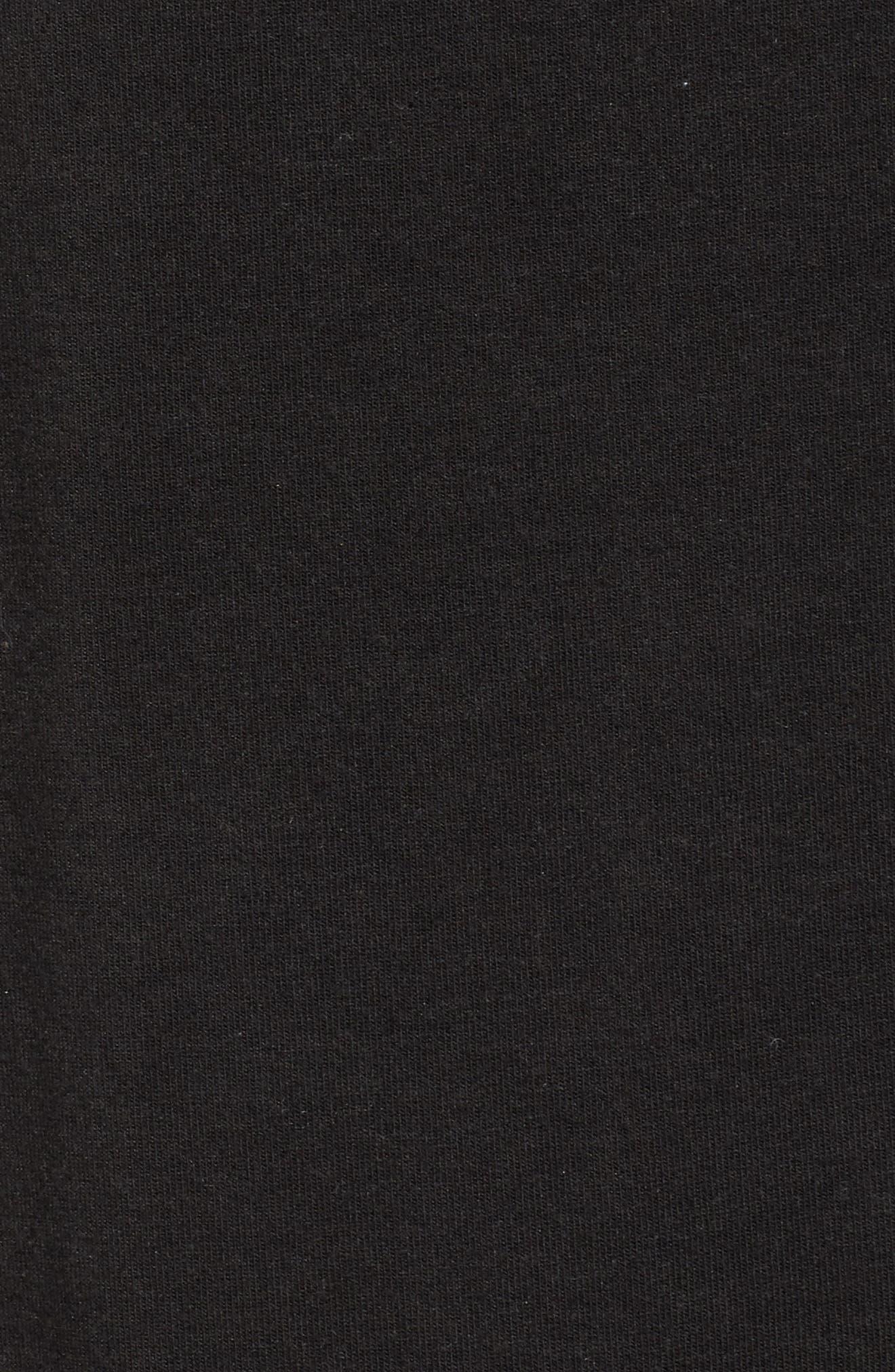 ATM ANTHONY THOMAS MELILLO, Sun Bleached Oversized T-Shirt, Alternate thumbnail 5, color, BLACK