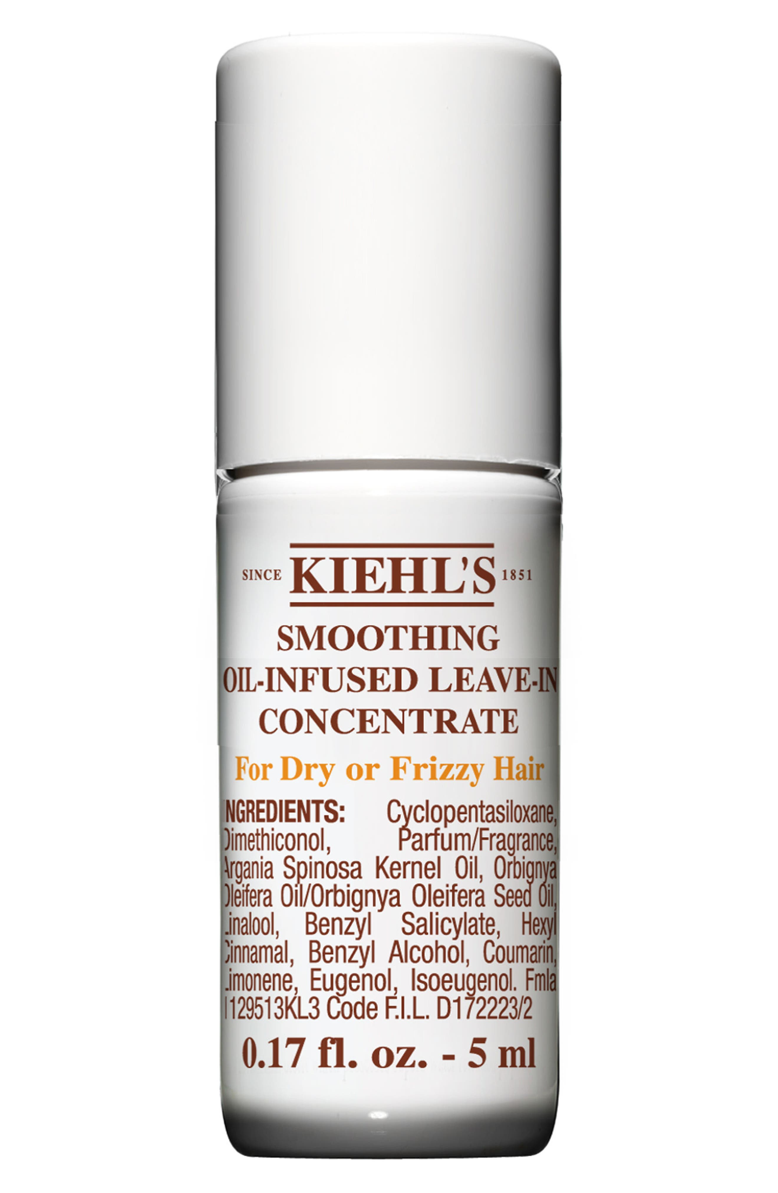 KIEHL'S SINCE 1851, Smoothing Oil-Infused Leave-In Concentrate, Alternate thumbnail 2, color, NO COLOR
