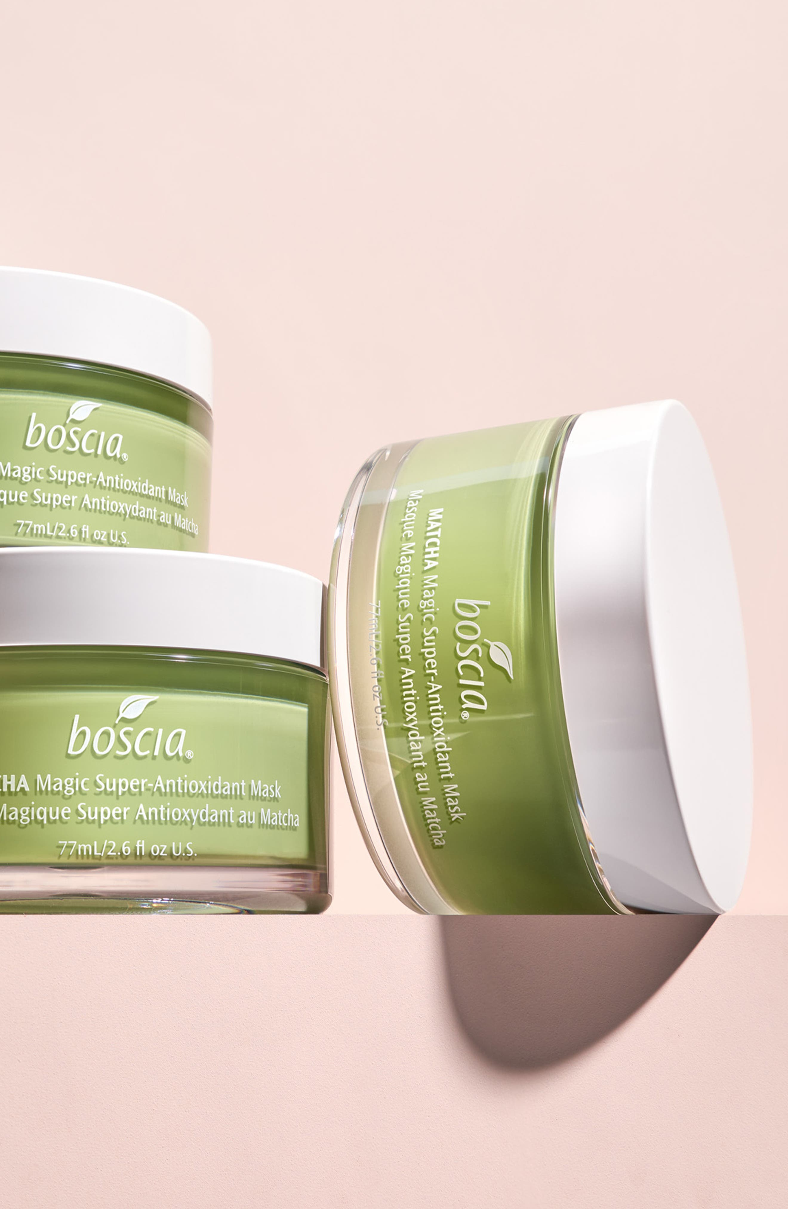 BOSCIA, Matcha Magic Super-Antioxidant Mask, Alternate thumbnail 6, color, NO COLOR