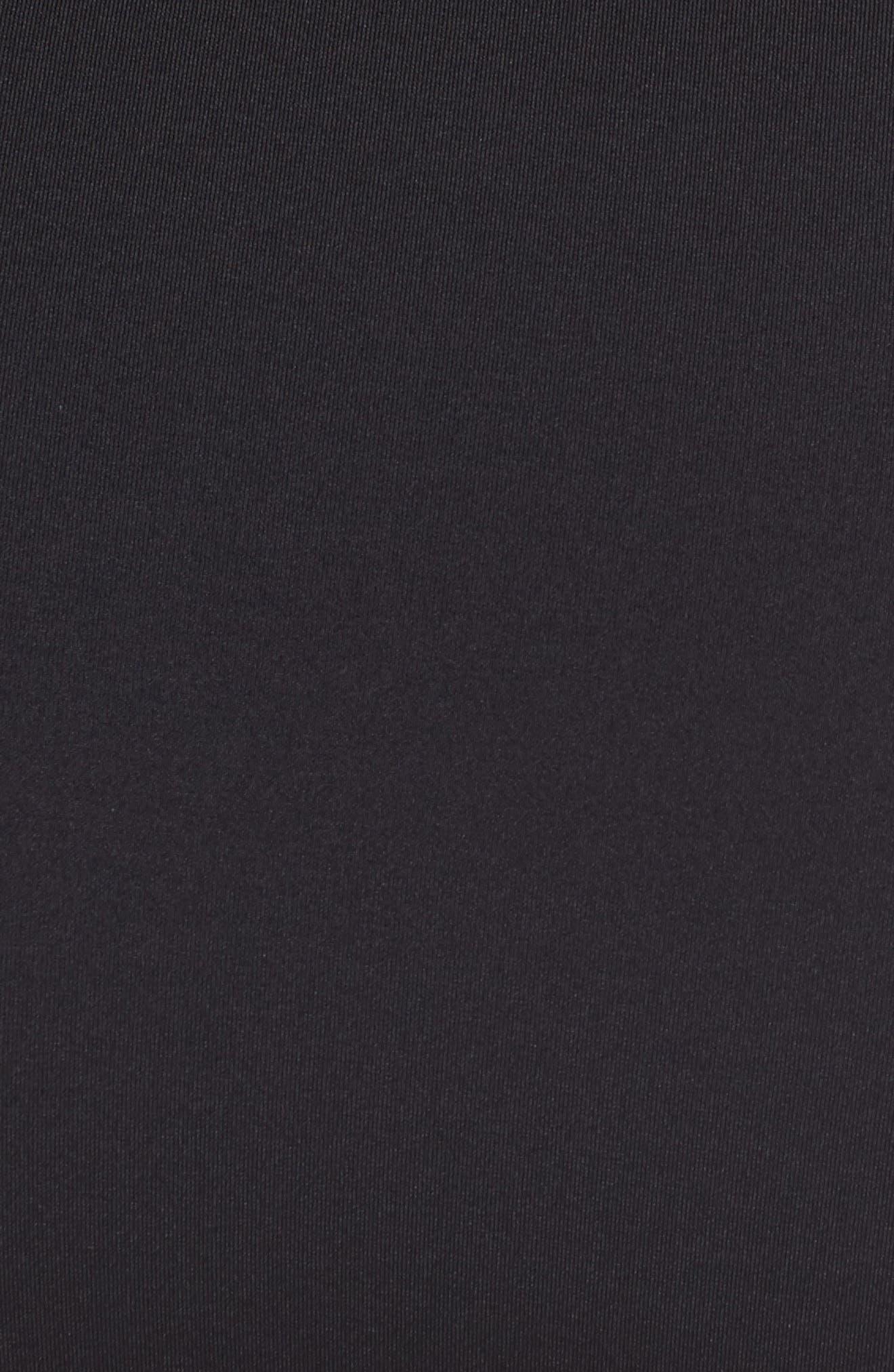 TOMMY BAHAMA, Mesh Bikini Bottoms, Alternate thumbnail 5, color, BLACK