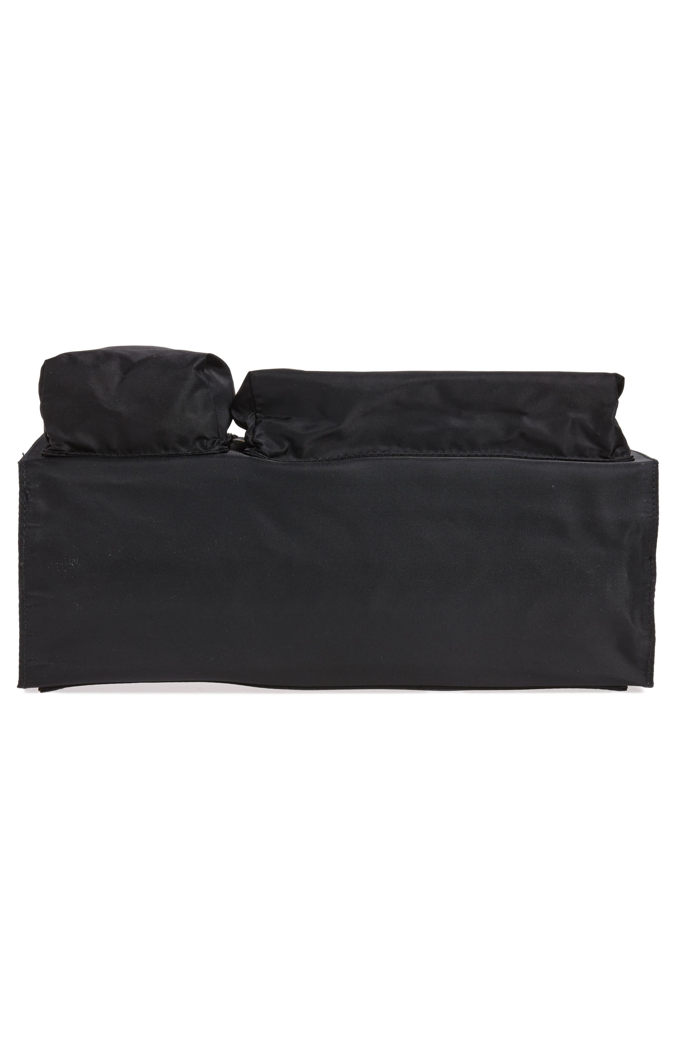 TOTESAVVY, Organization Handbag Insert, Alternate thumbnail 6, color, CLASSIC BLACK